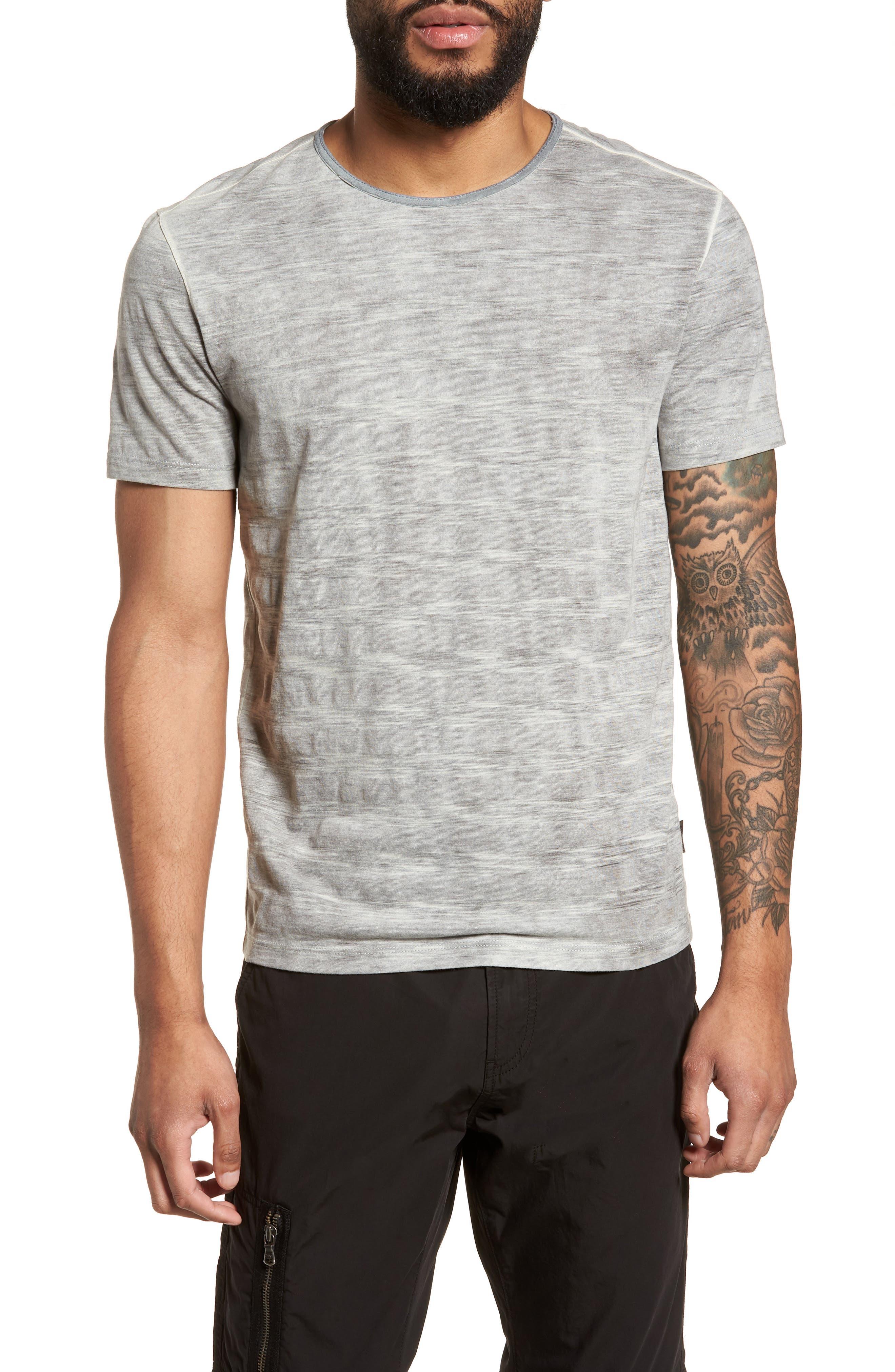 Slim Fit Ombré Stripe T-Shirt,                         Main,                         color, 077