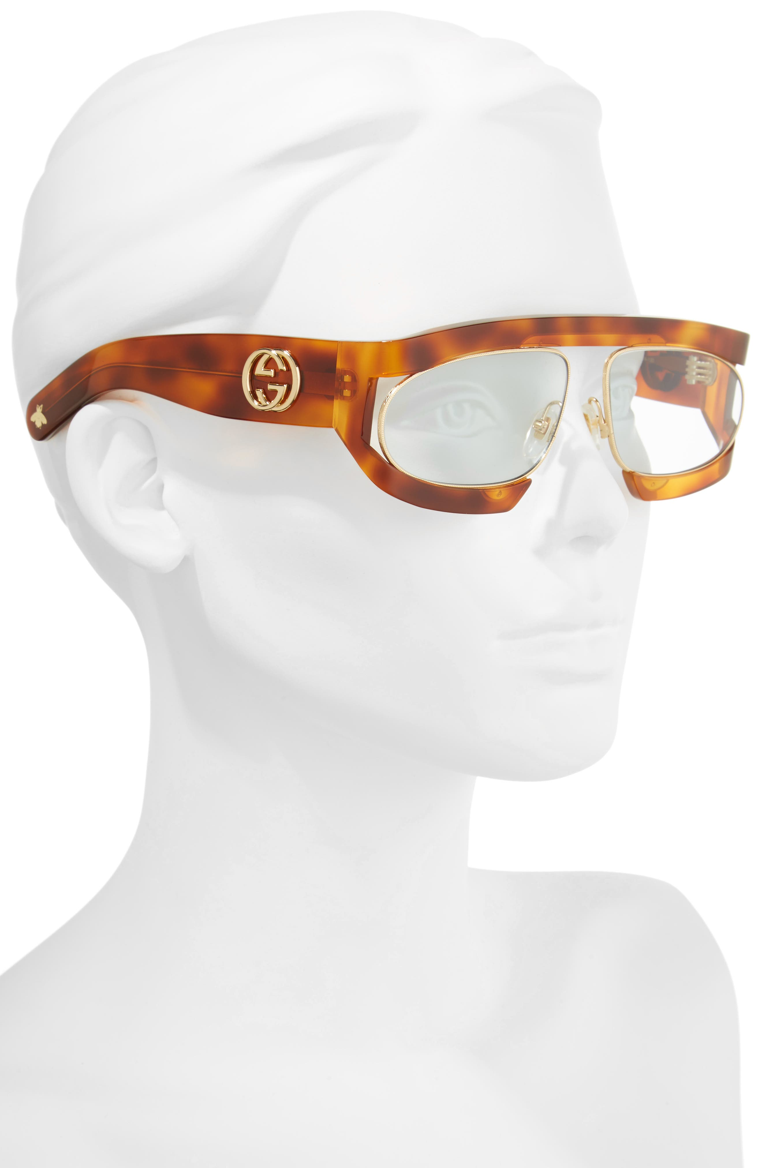 63mm Shield Glasses,                             Alternate thumbnail 2, color,                             200