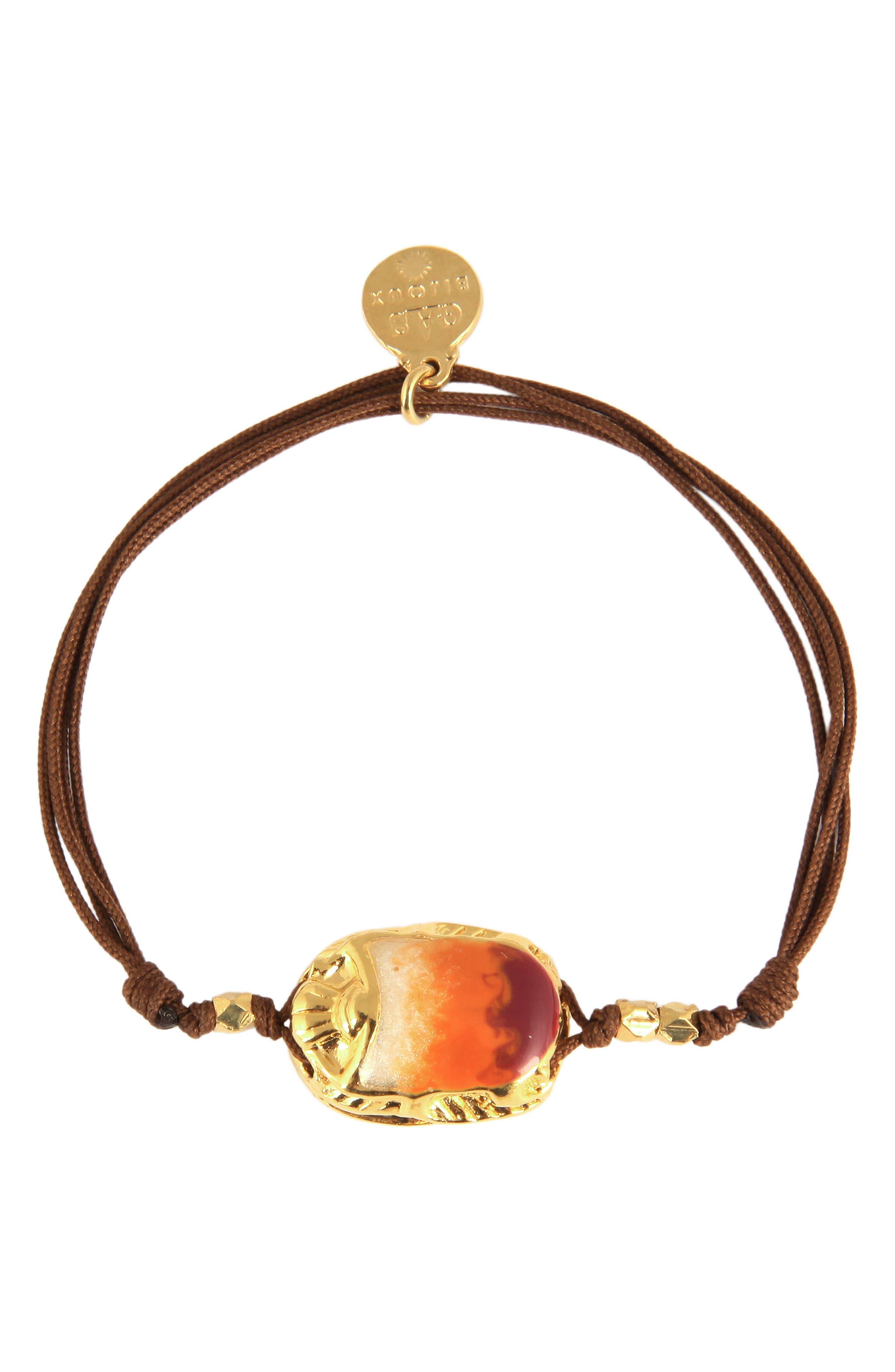 'Scaramouche' String Bracelet,                             Main thumbnail 7, color,