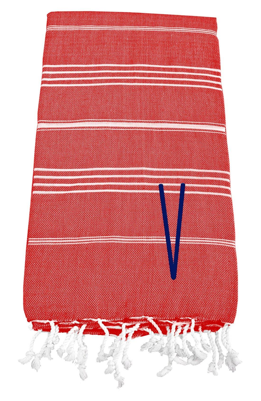 Monogram Turkish Cotton Towel,                             Main thumbnail 131, color,