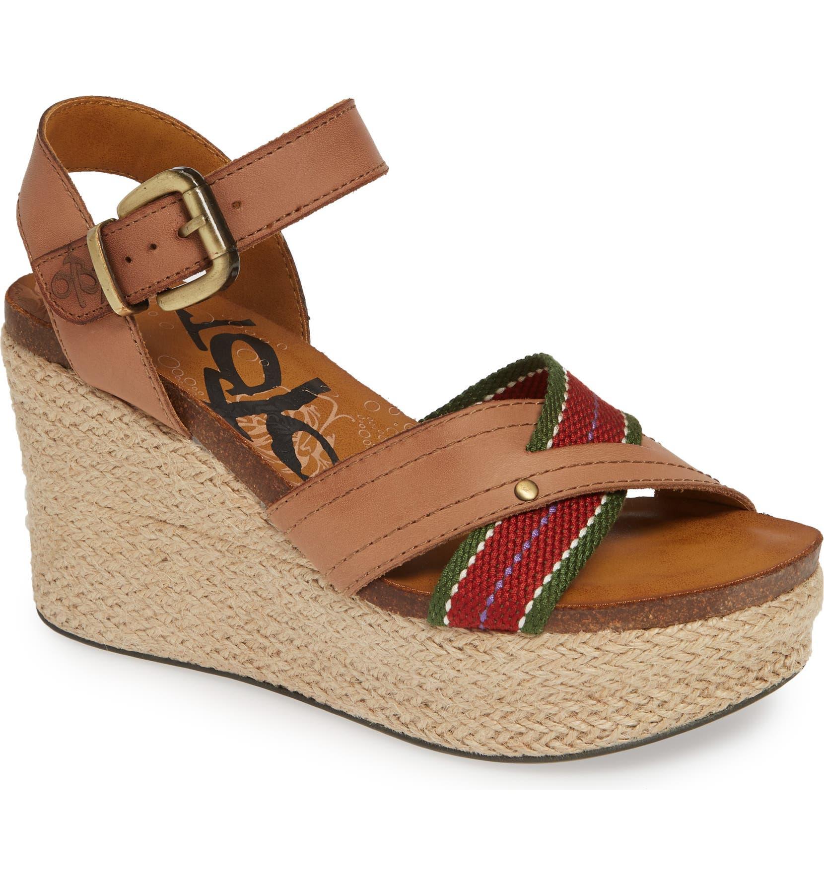 d18b89fa255 OTBT Topsail Platform Wedge Sandal (Women)