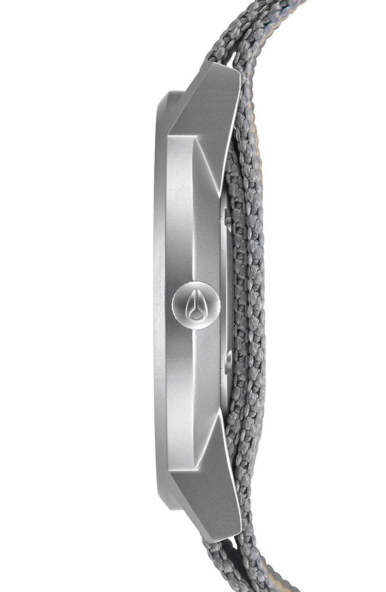 Porter Nylon Strap Watch, 40mm,                             Alternate thumbnail 13, color,