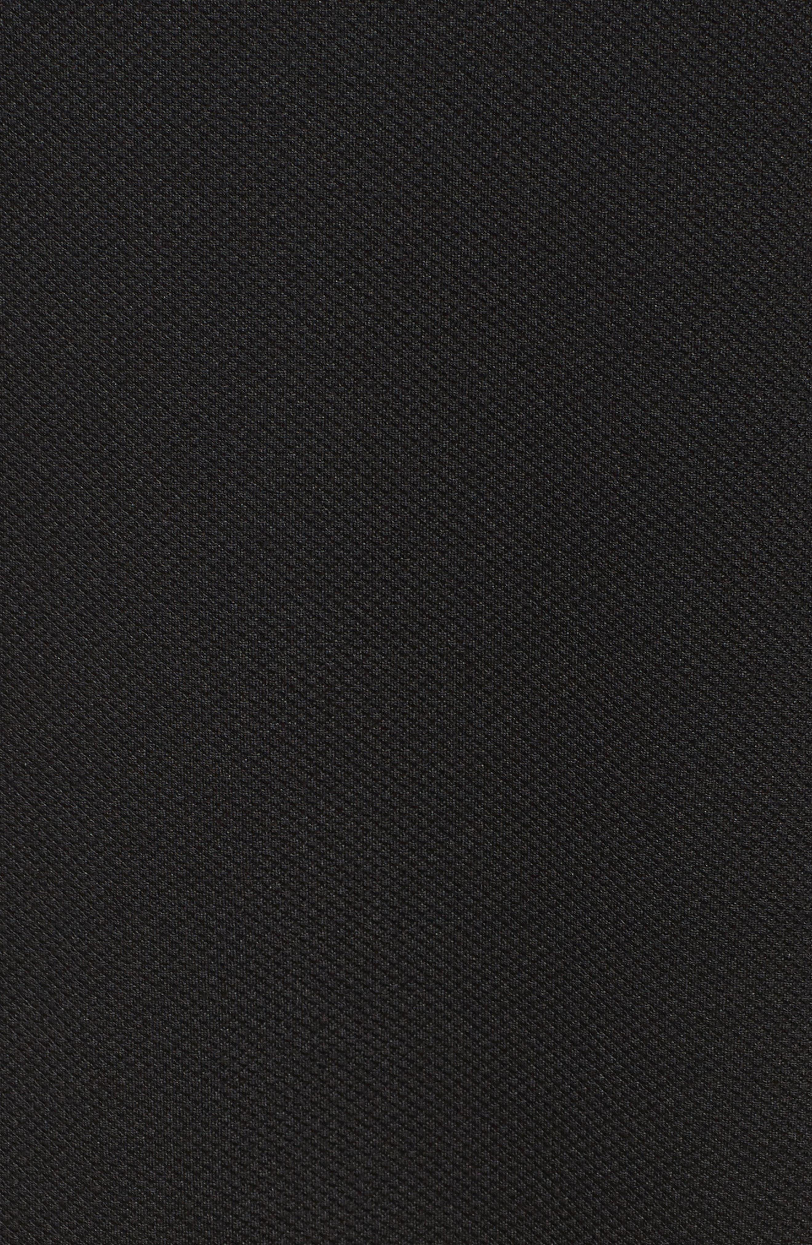 Bell Sleeve Dress,                             Alternate thumbnail 5, color,                             001