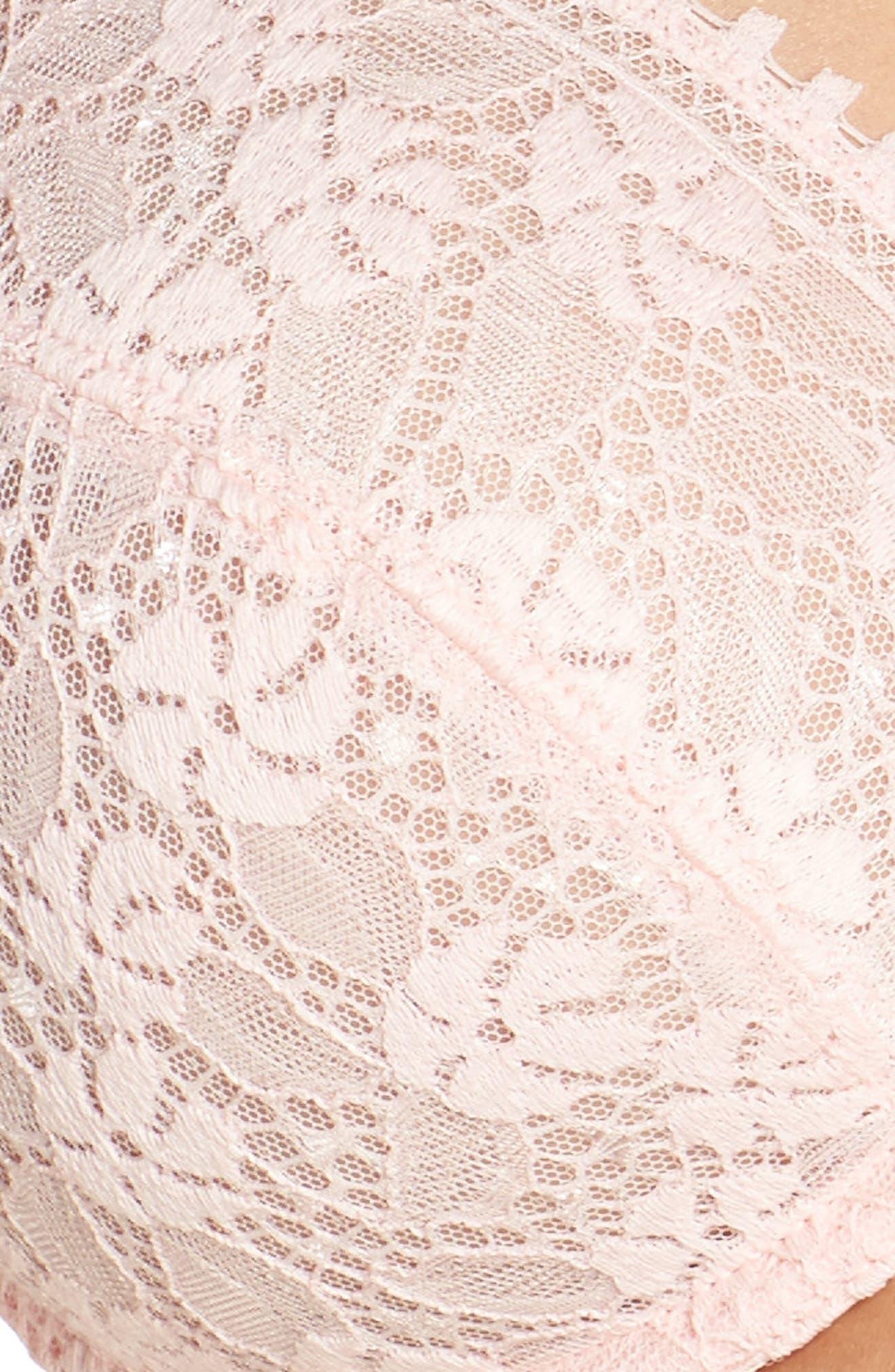 Batignolles Lace Underwire Bra,                             Alternate thumbnail 18, color,