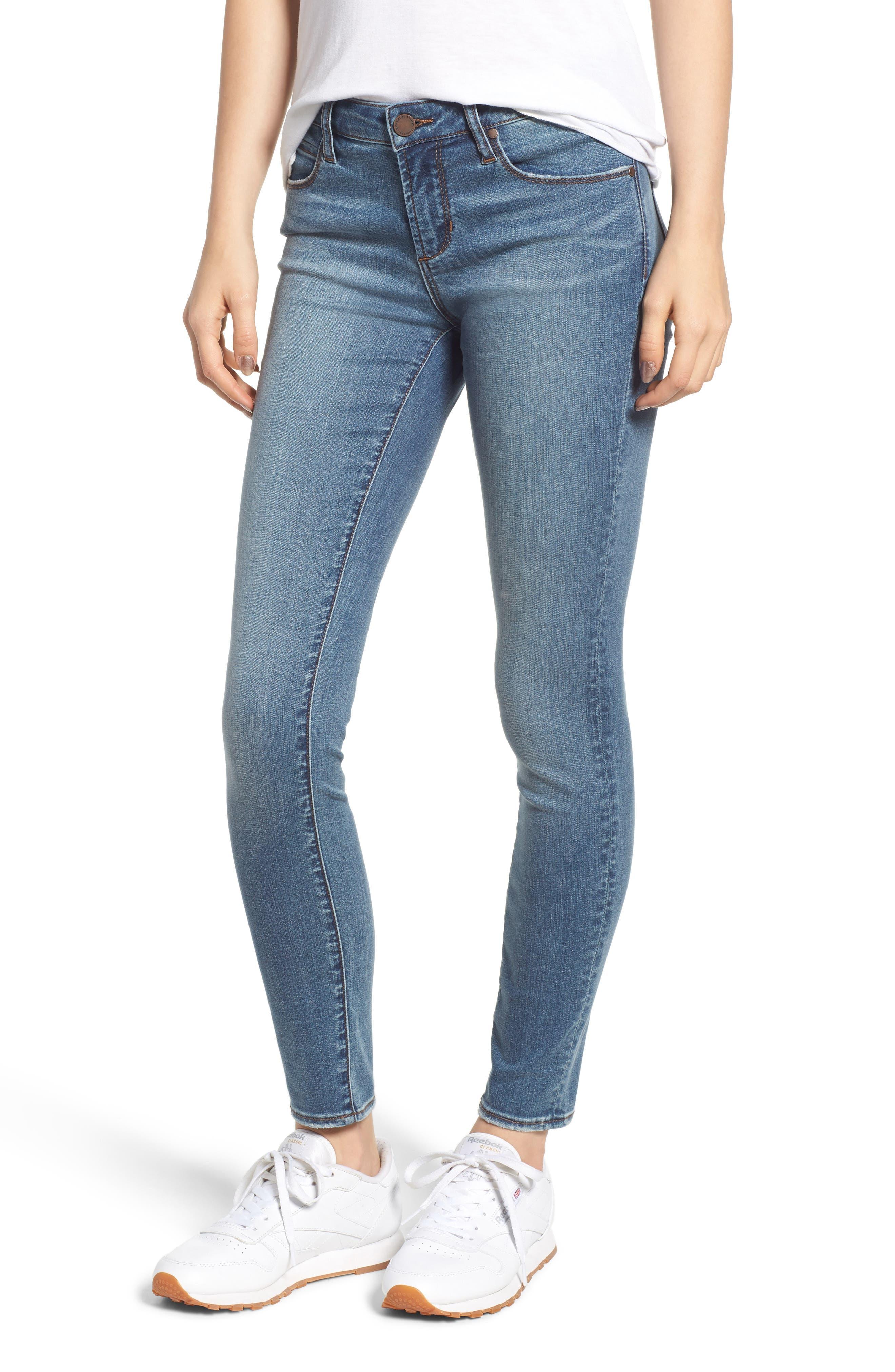 Sarah Skinny Jeans, Main, color, 400