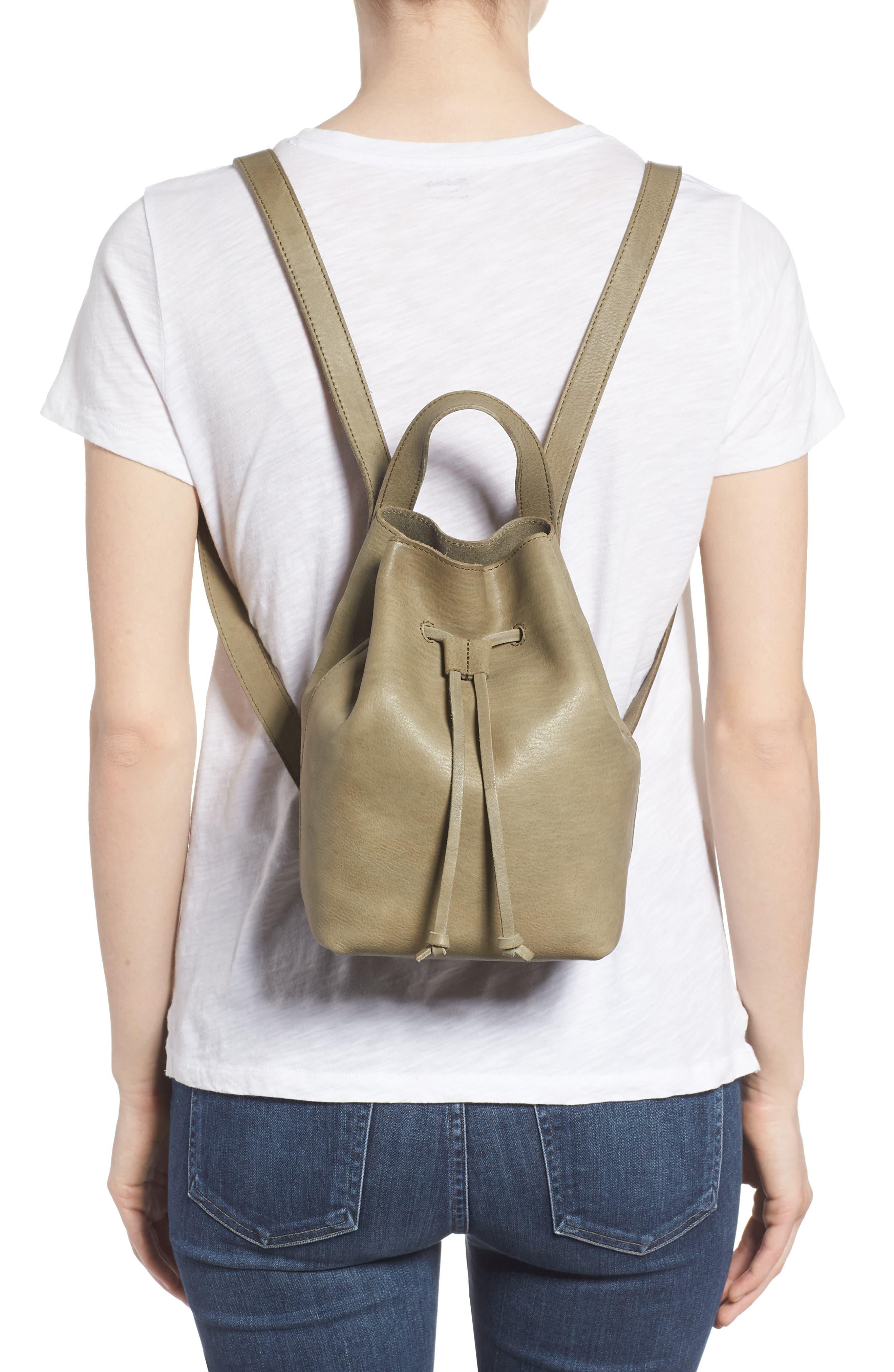 Mini Somerset Leather Backpack,                             Alternate thumbnail 2, color,                             FORGOTTEN LANDSCAPE