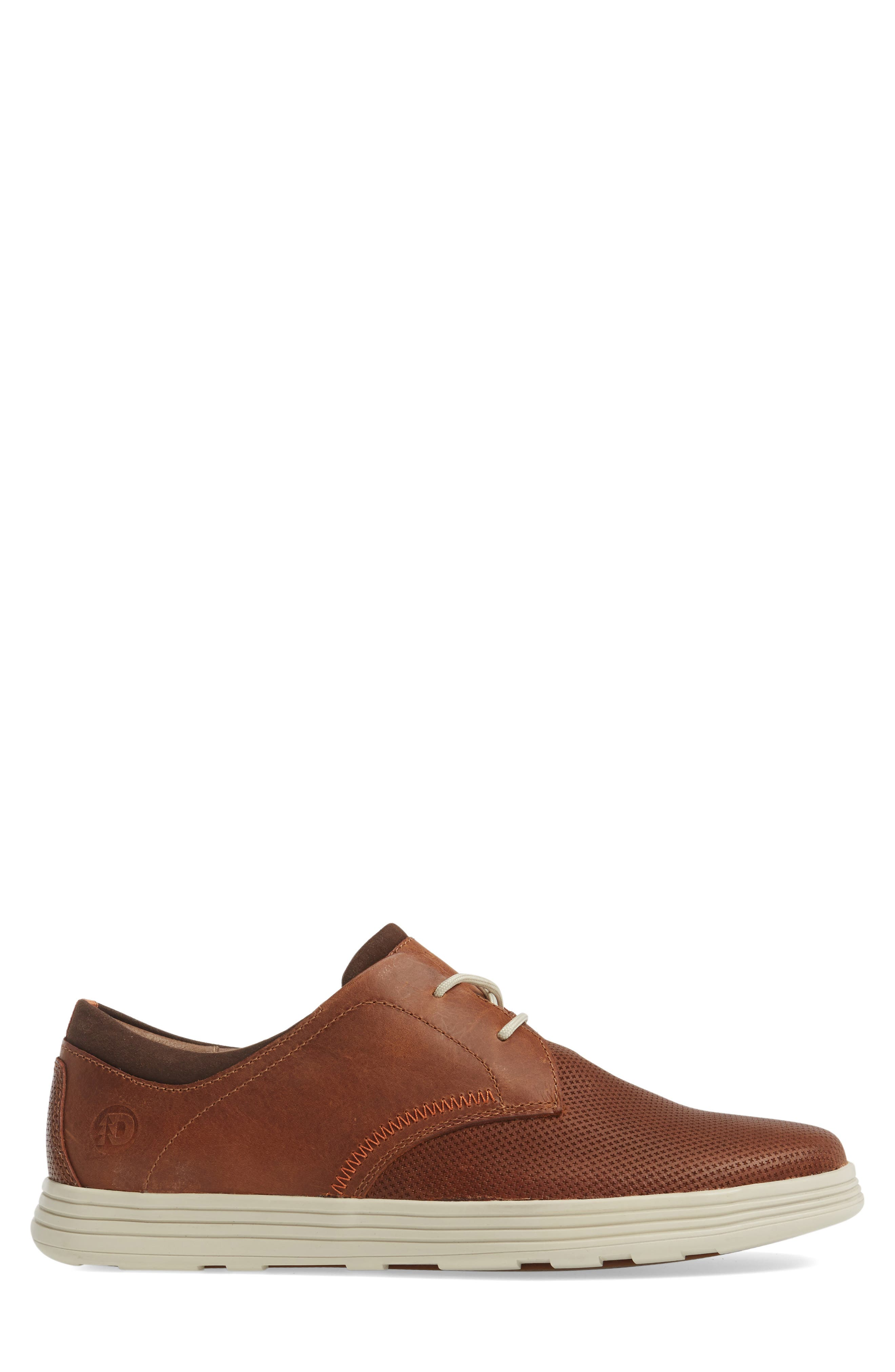 Colchester Embossed Oxford,                             Alternate thumbnail 3, color,                             BROWN