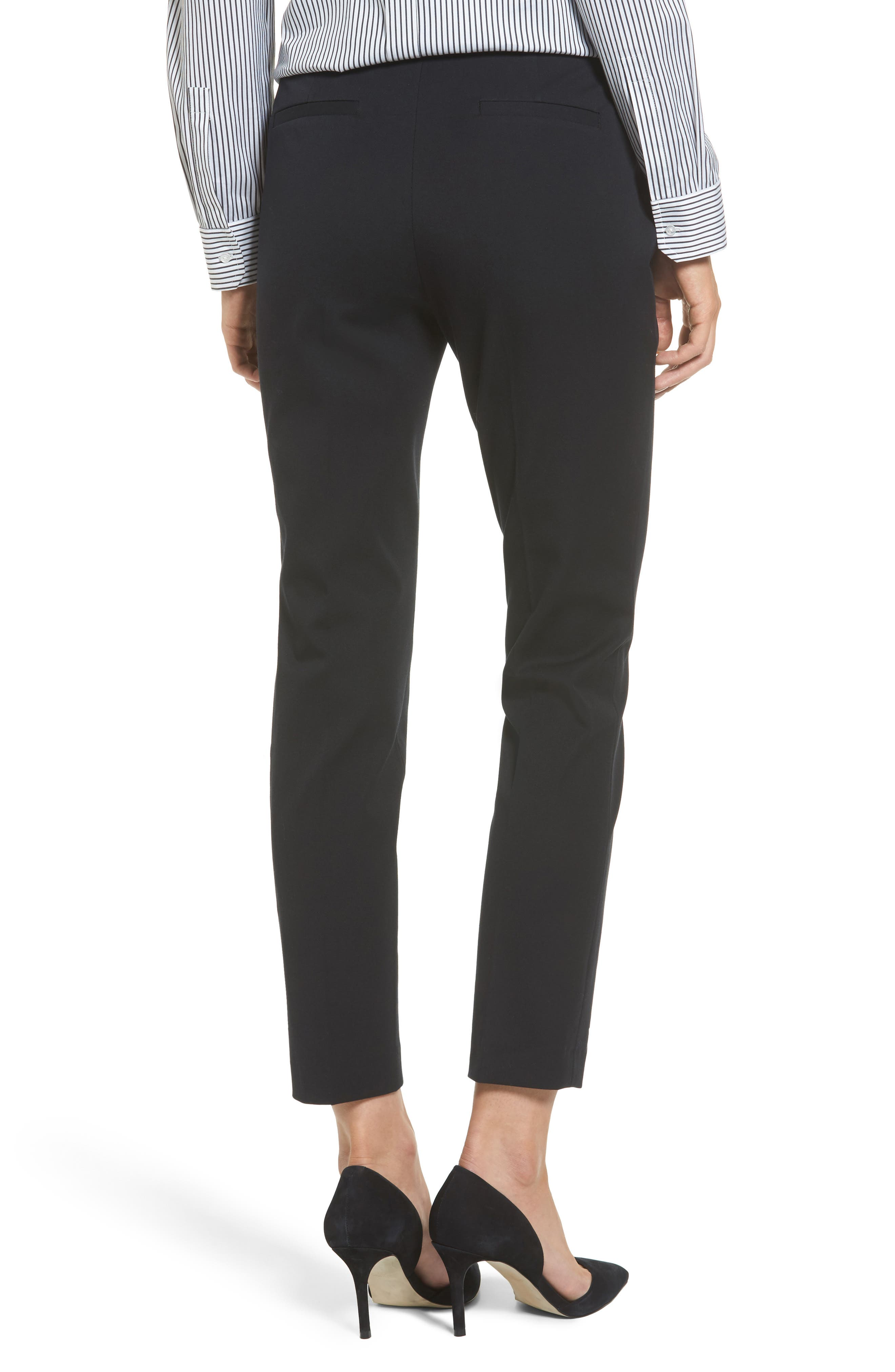 Ankle Pants,                             Alternate thumbnail 2, color,                             BLACK