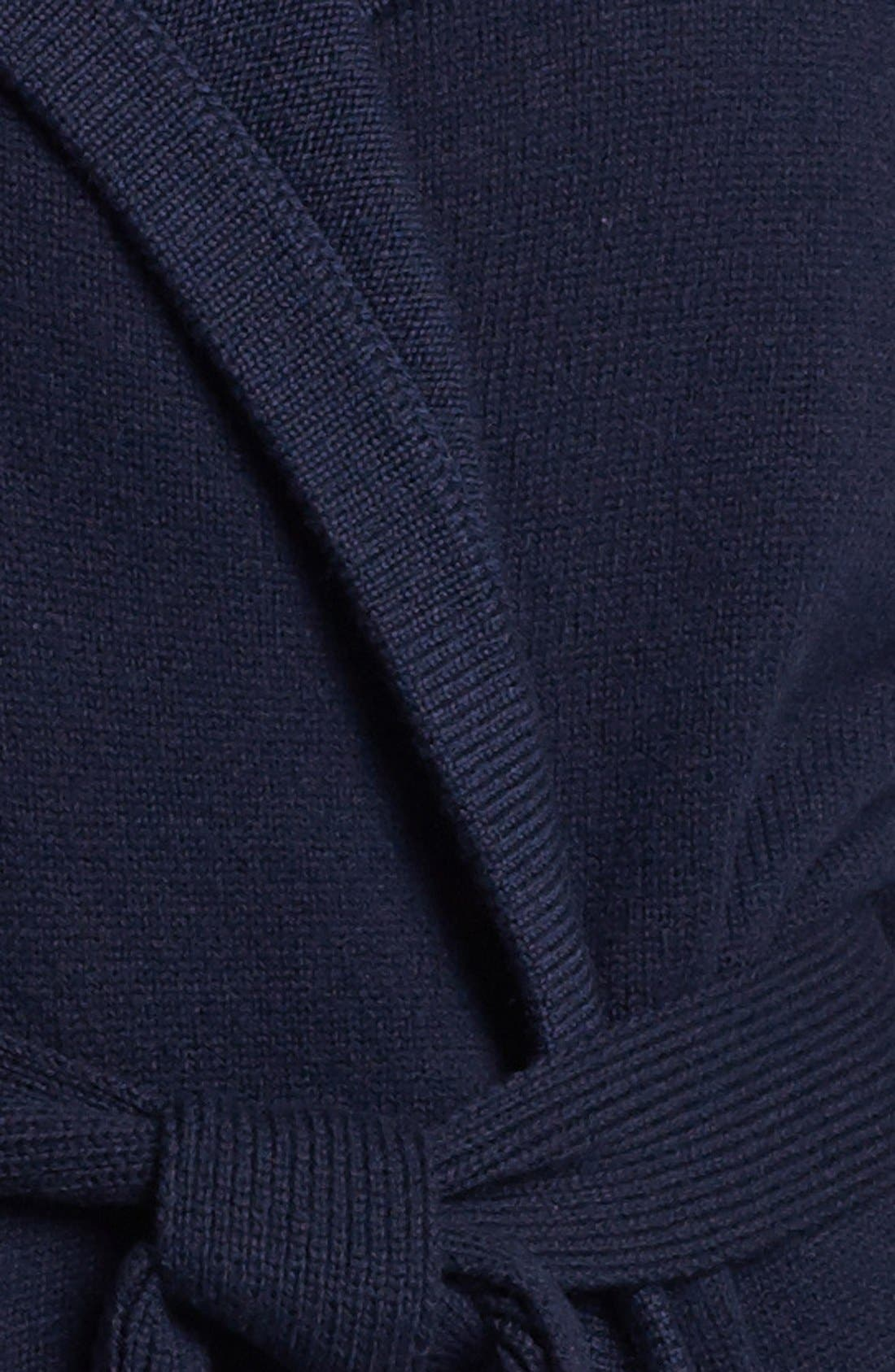 'Archie' Belted Wool Sweater,                             Alternate thumbnail 2, color,                             438