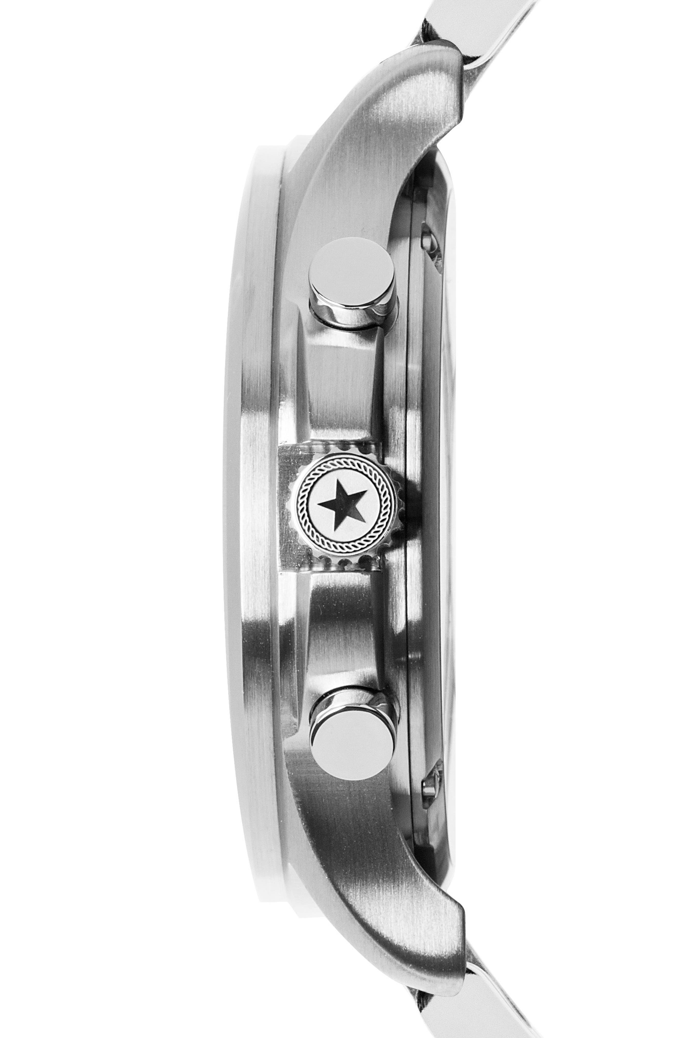 Field Chronograph Bracelet Watch, 42mm,                             Alternate thumbnail 3, color,                             040