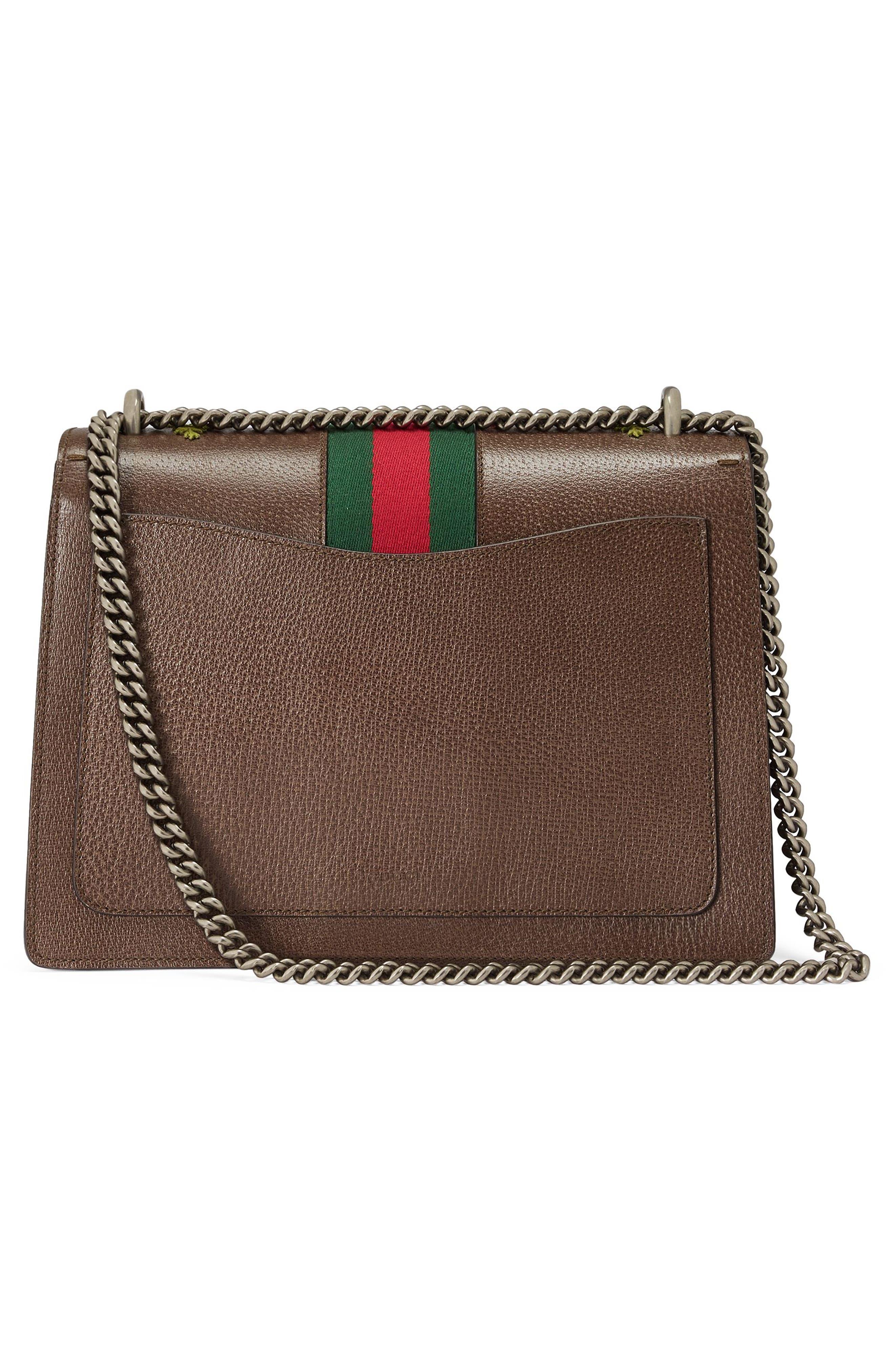 Medium Dionysus Embroidered Leather Shoulder Bag,                             Alternate thumbnail 2, color,                             031