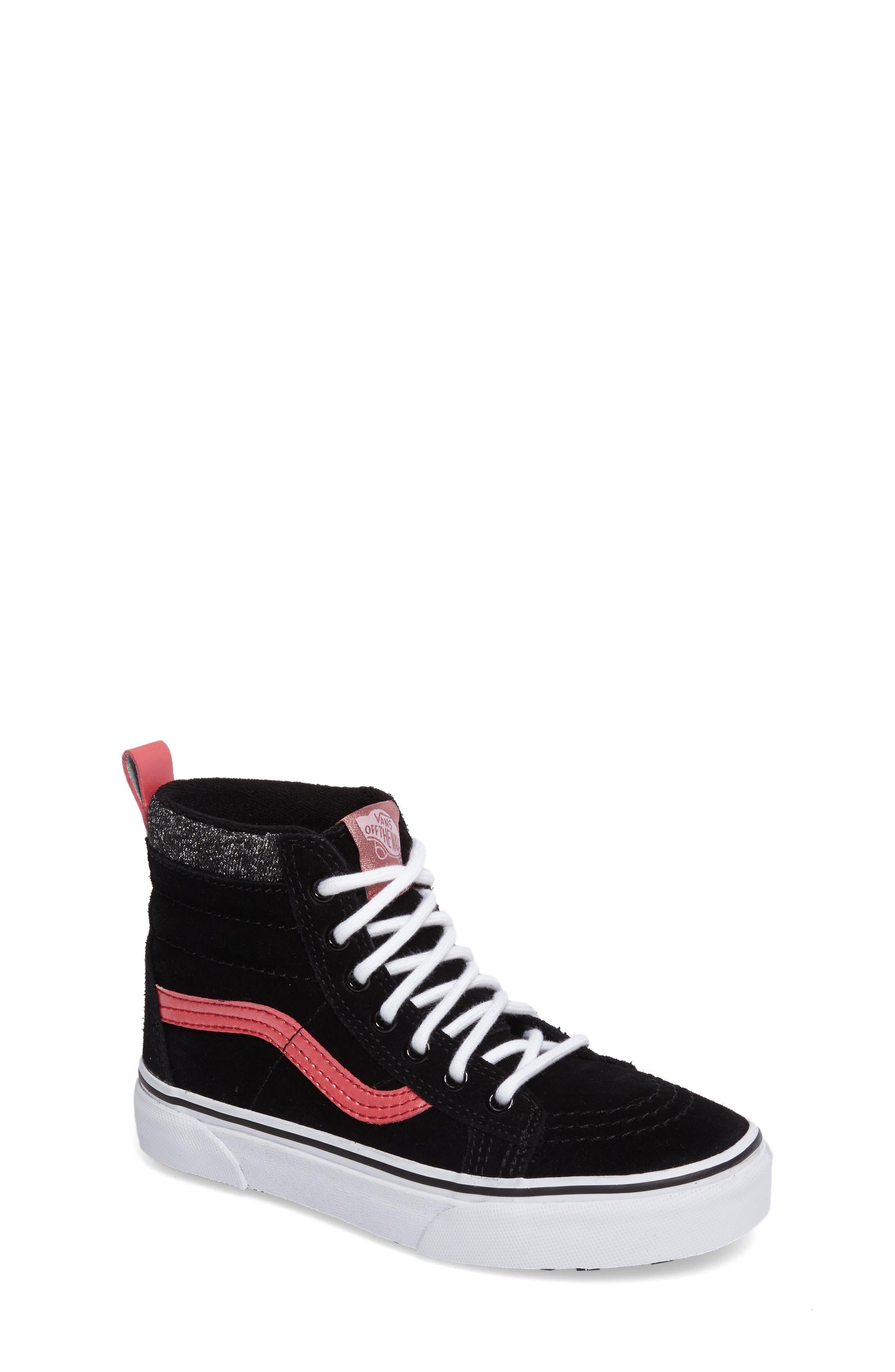 SK8-Hi Sneaker,                             Main thumbnail 1, color,                             001
