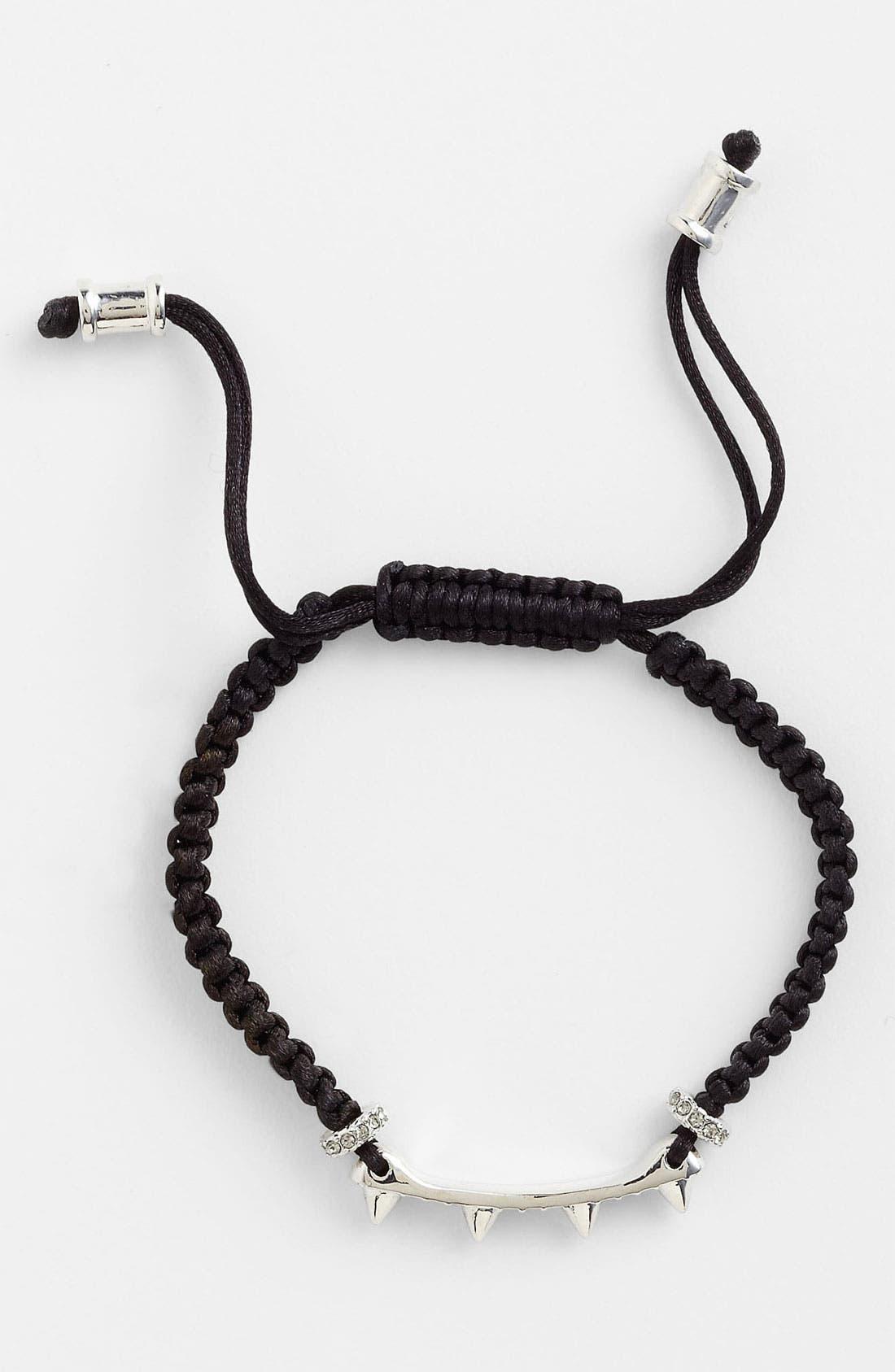 VINCE CAMUTO,                             Macramé Bracelet,                             Alternate thumbnail 3, color,                             001
