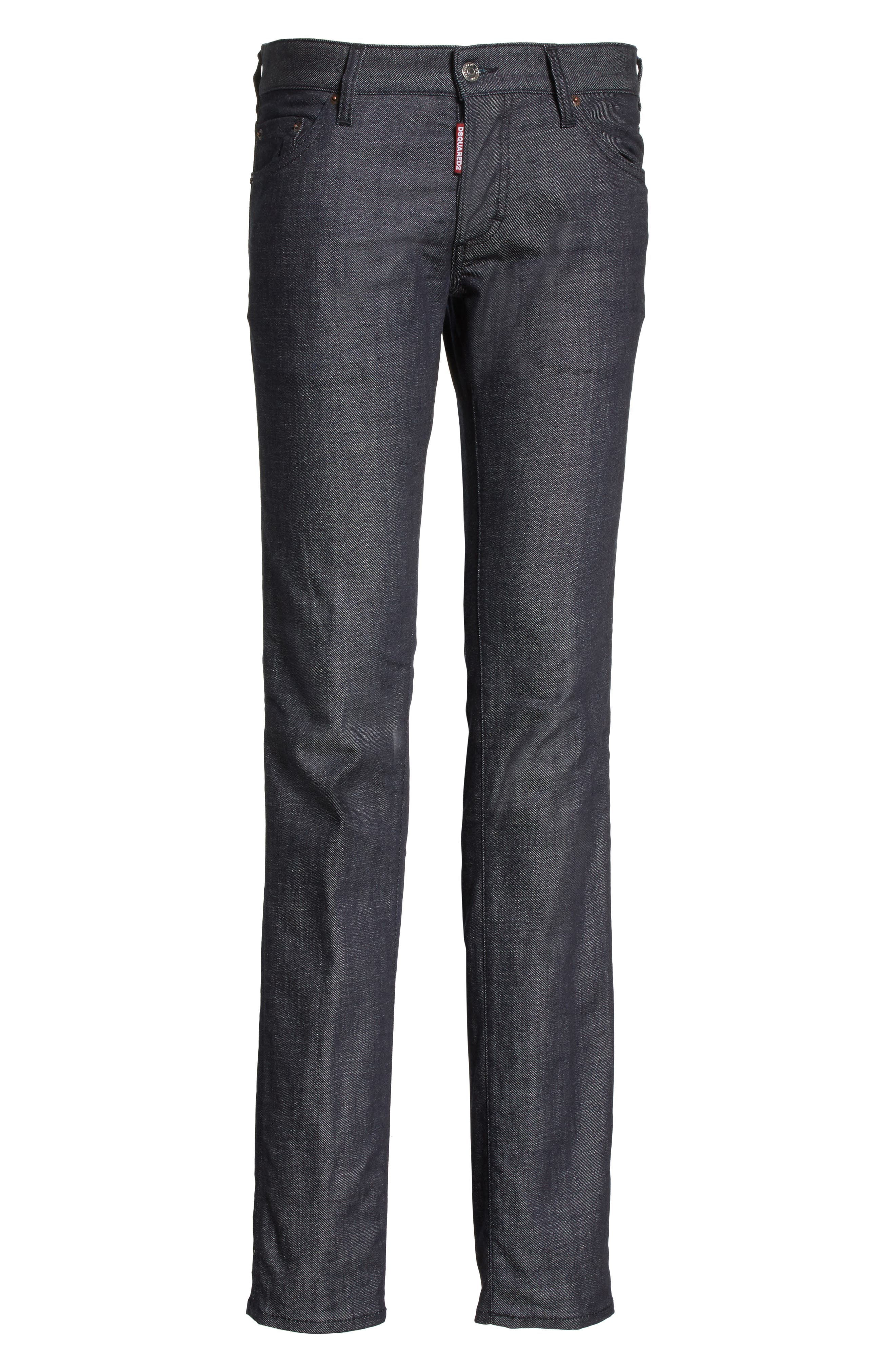 24-7Star Slim Fit Jeans,                             Alternate thumbnail 6, color,                             NAVY/BLUE