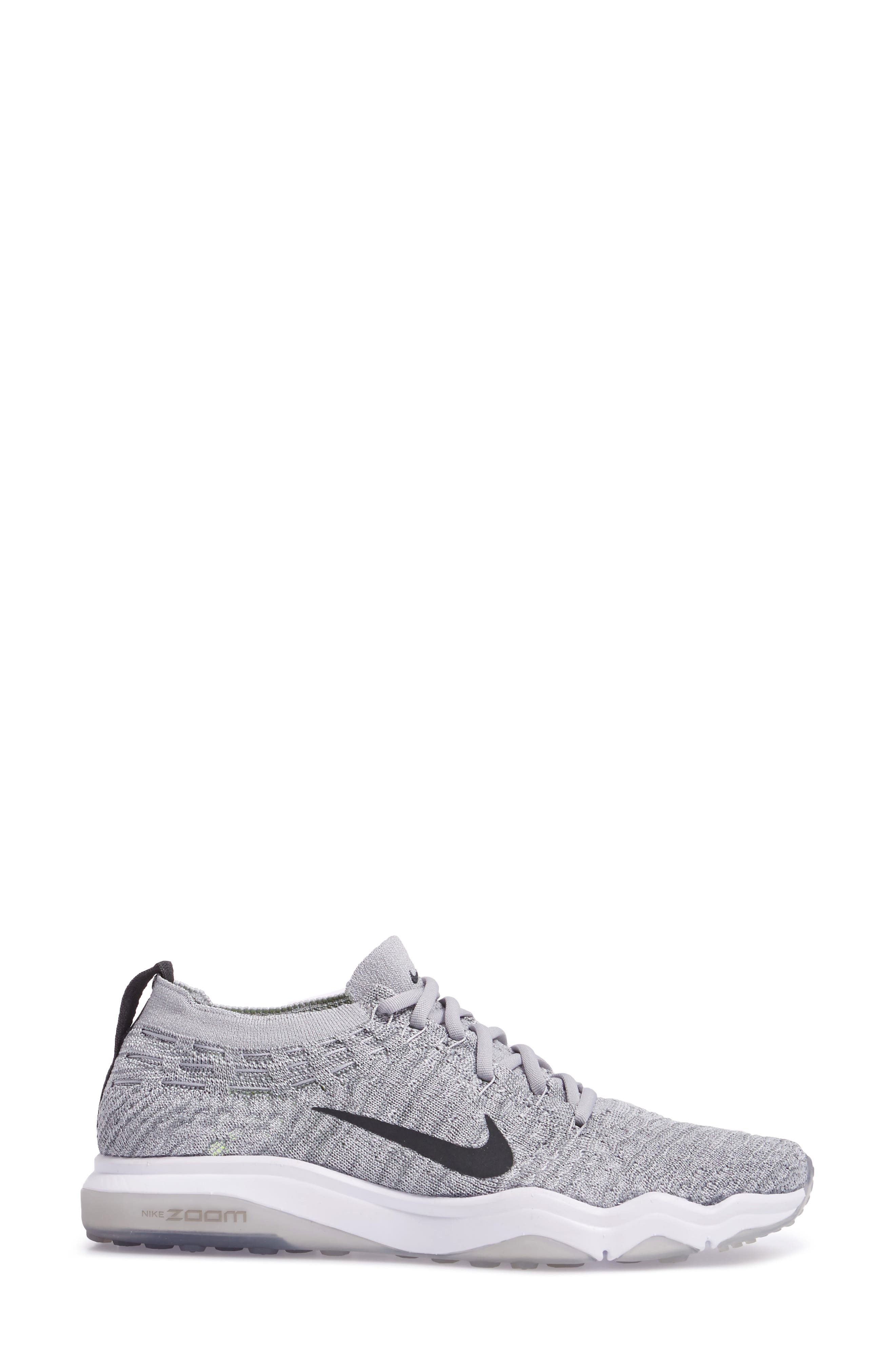 Air Zoom Fearless Flyknit Lux Training Shoe,                             Alternate thumbnail 12, color,