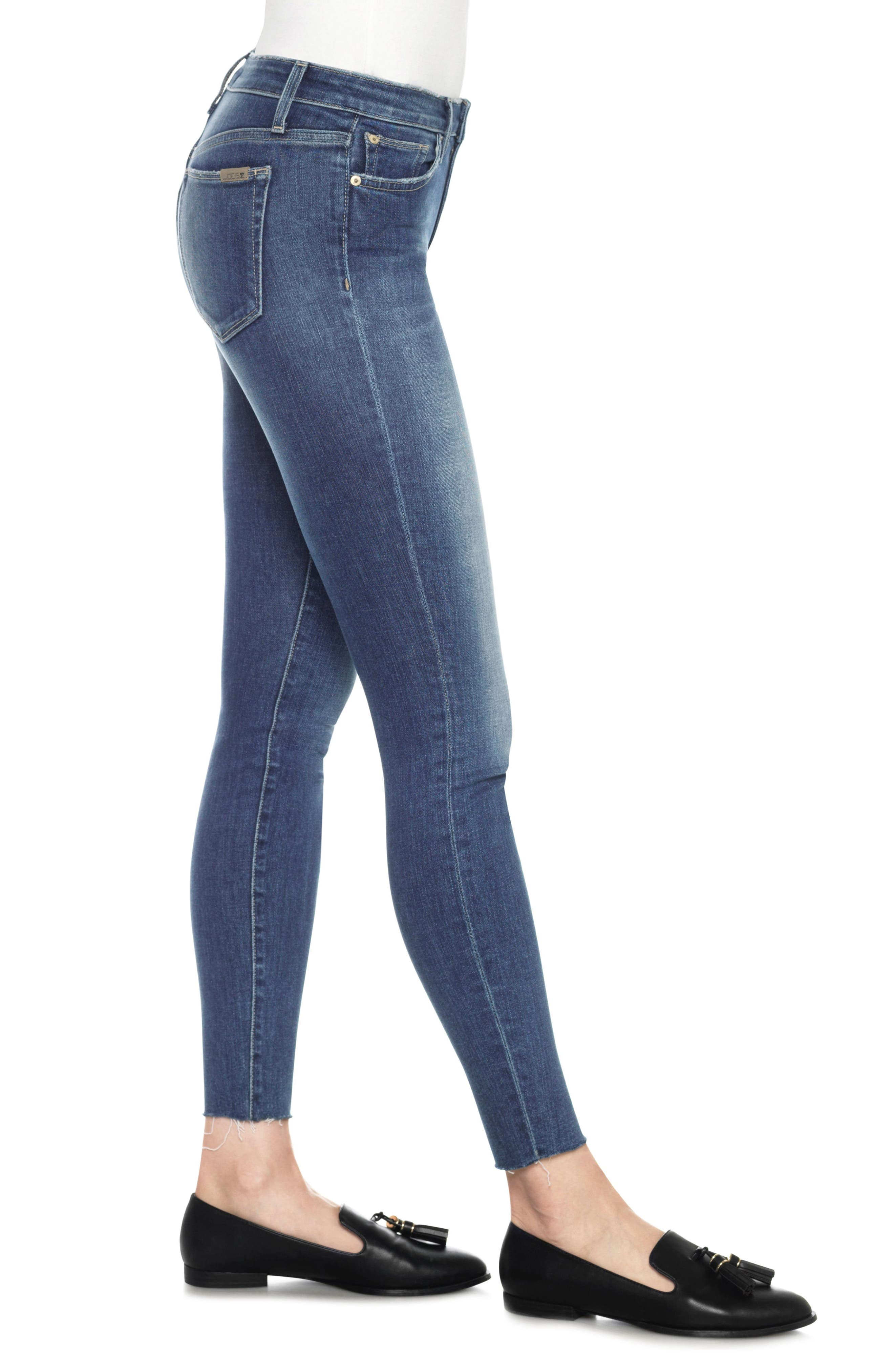 Icon Ankle Skinny Jeans,                             Alternate thumbnail 3, color,                             411
