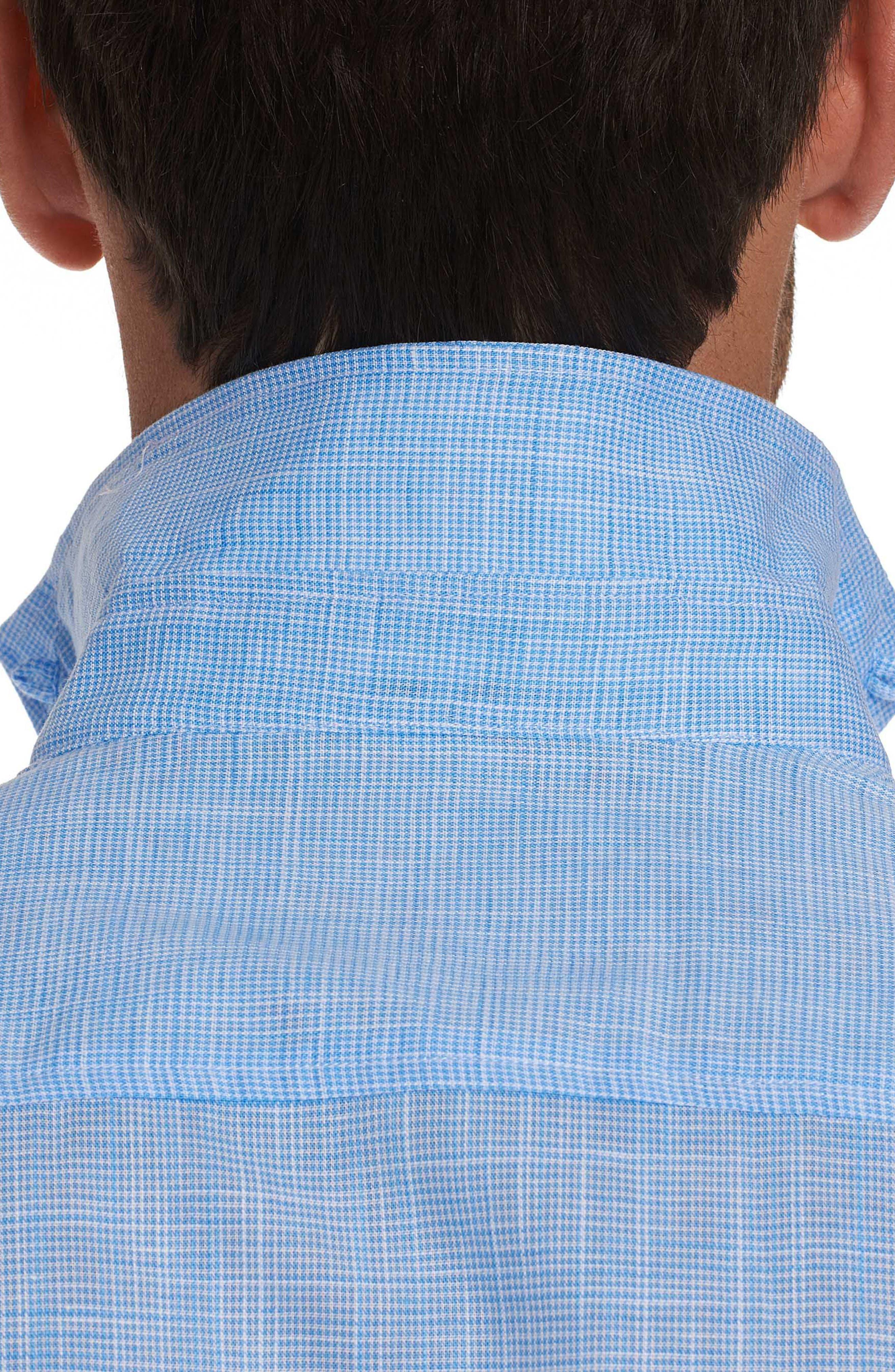 ROBERT GRAHAM,                             Isia Tailored Fit Sport Shirt,                             Alternate thumbnail 7, color,                             400