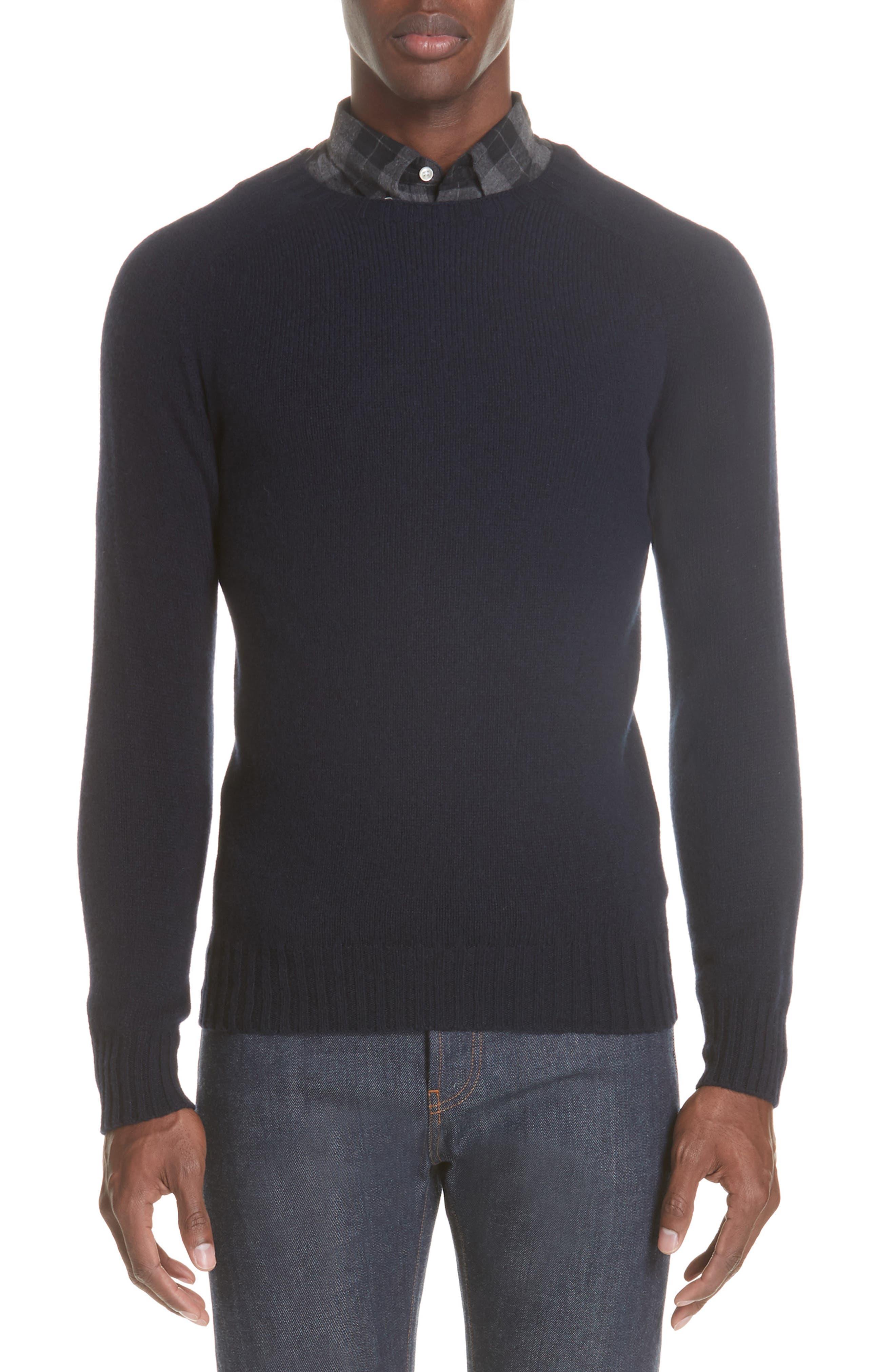 Officine Générale Wool Crewneck Sweater,                         Main,                         color, 410
