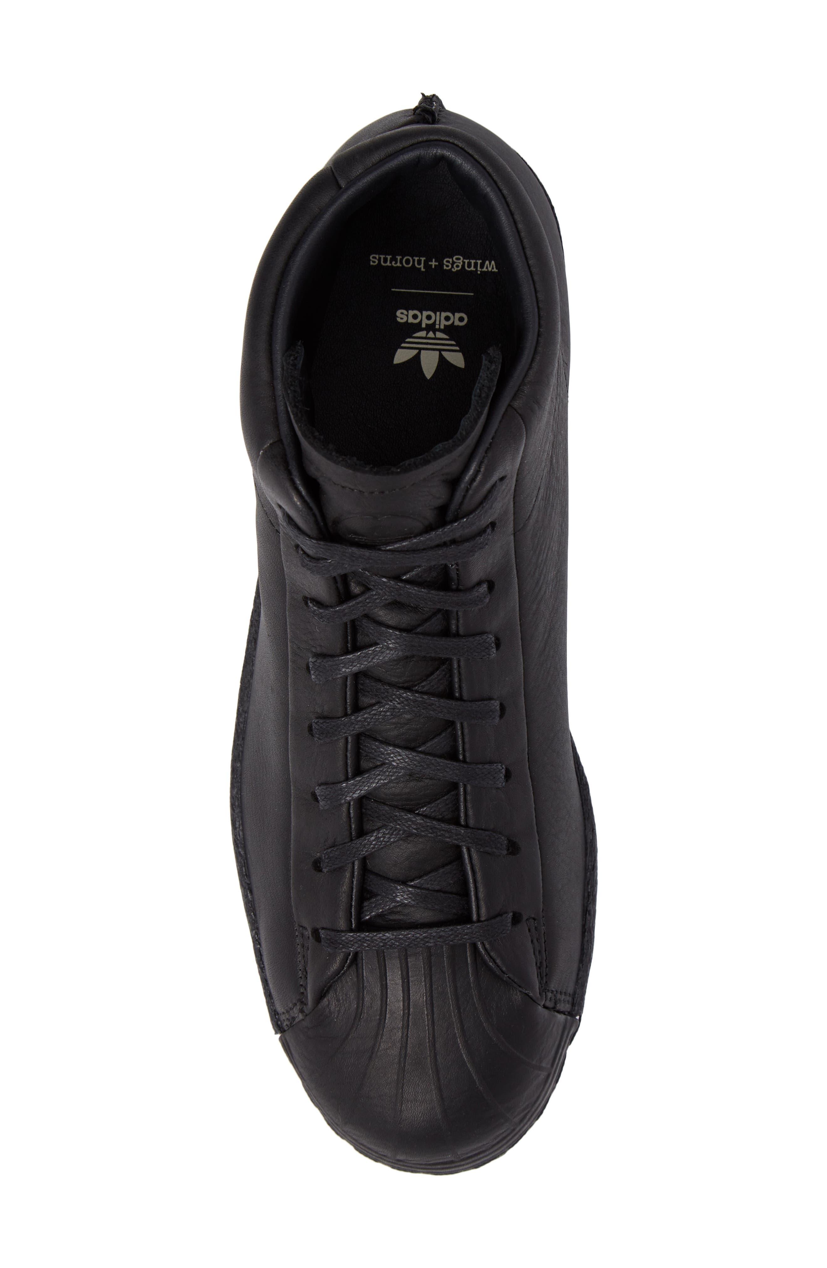 High-Top Sneaker,                             Alternate thumbnail 5, color,                             001