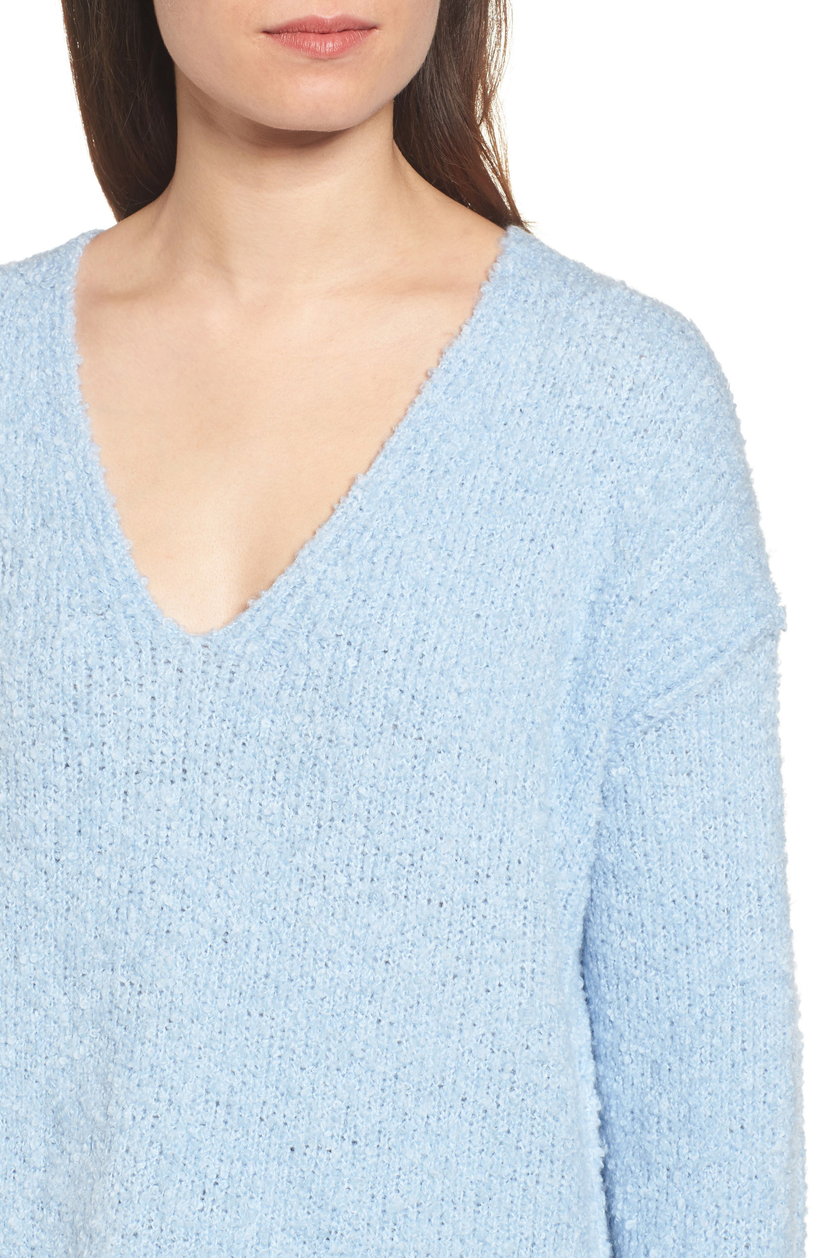 Lofty V-Neck Sweater,                             Alternate thumbnail 24, color,
