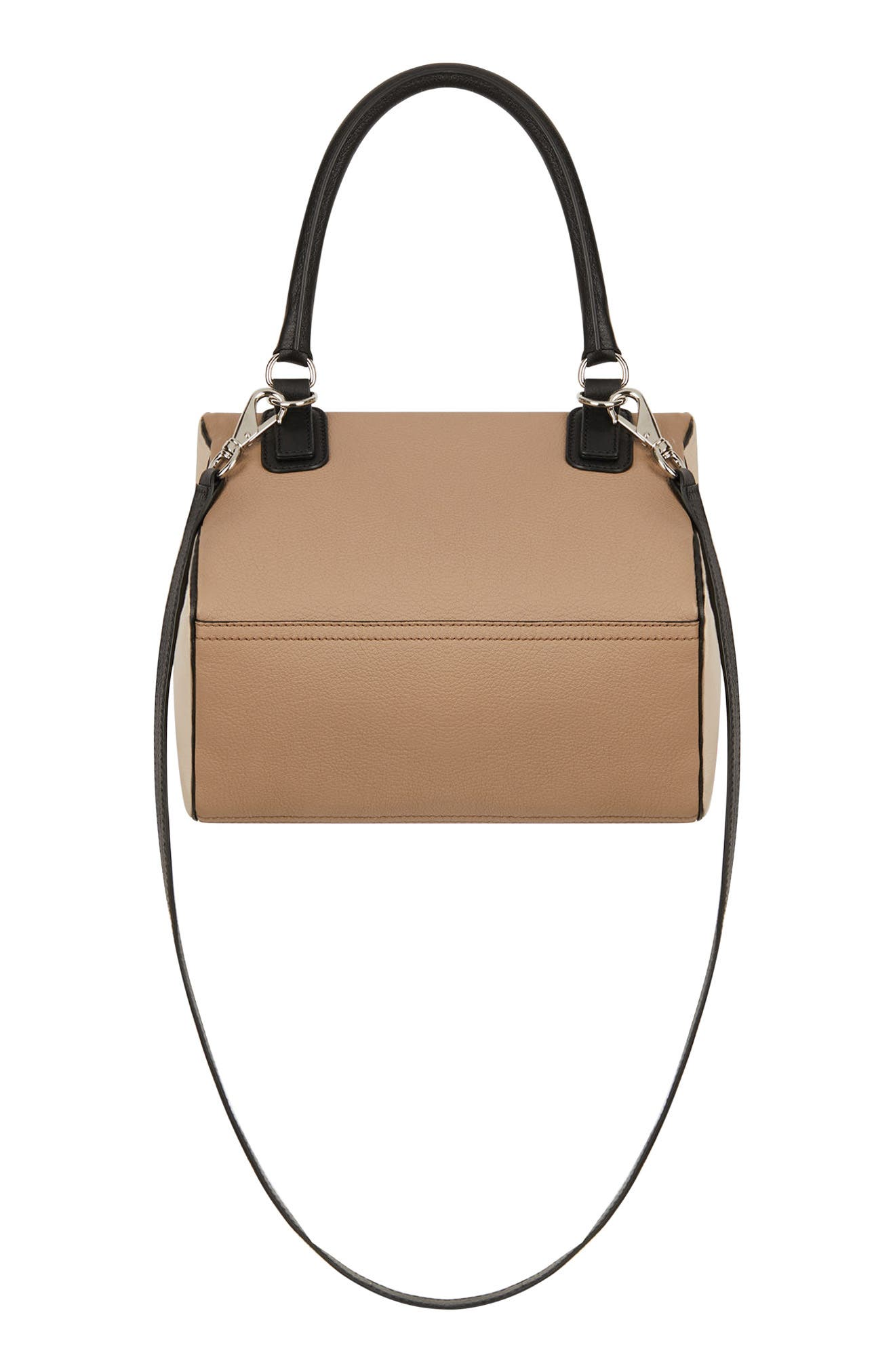 Small Pandora Box Tricolor Leather Crossbody Bag,                             Alternate thumbnail 2, color,                             250