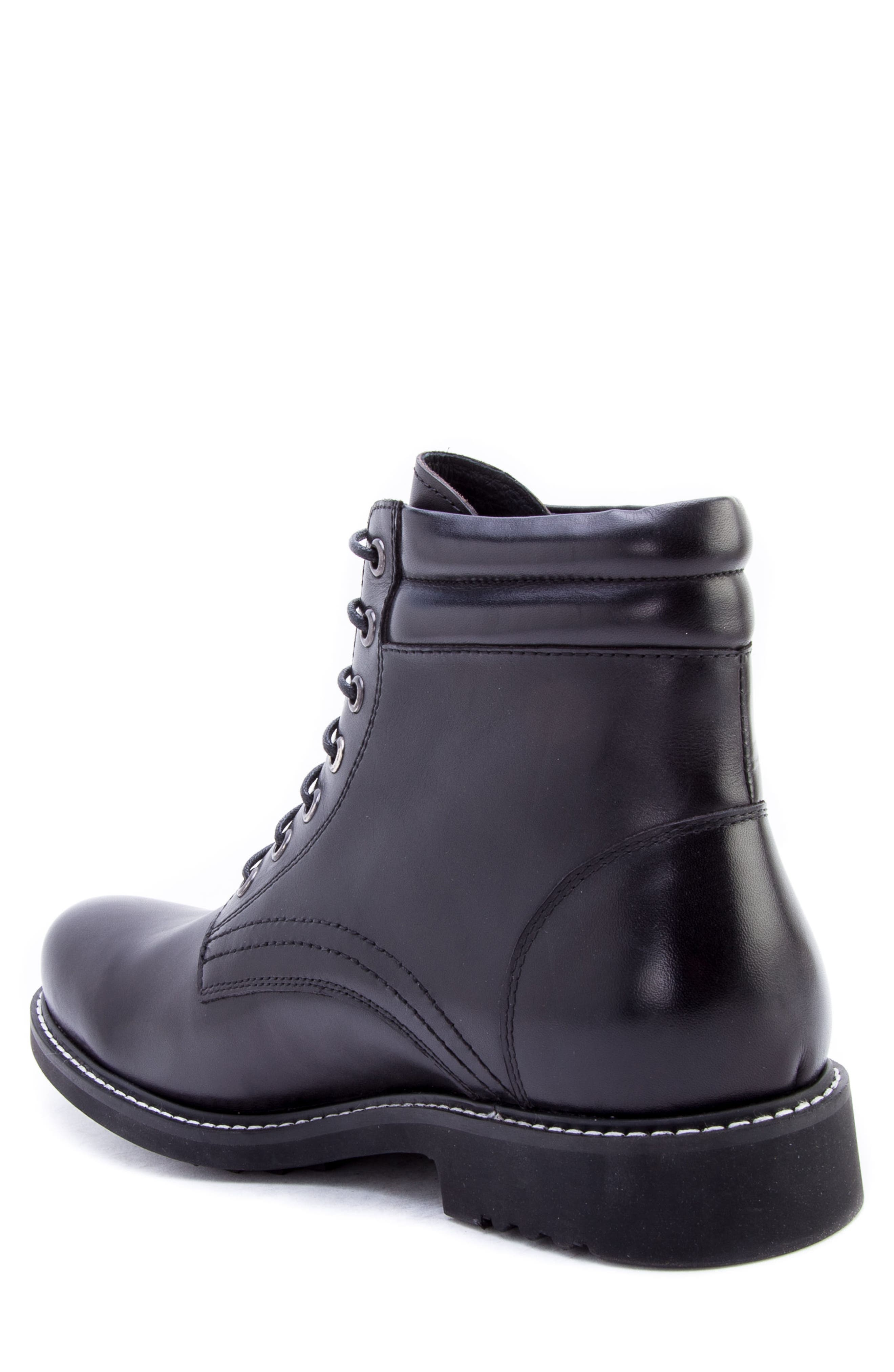 Zucchi Boot,                             Alternate thumbnail 2, color,                             BLACK LEATHER