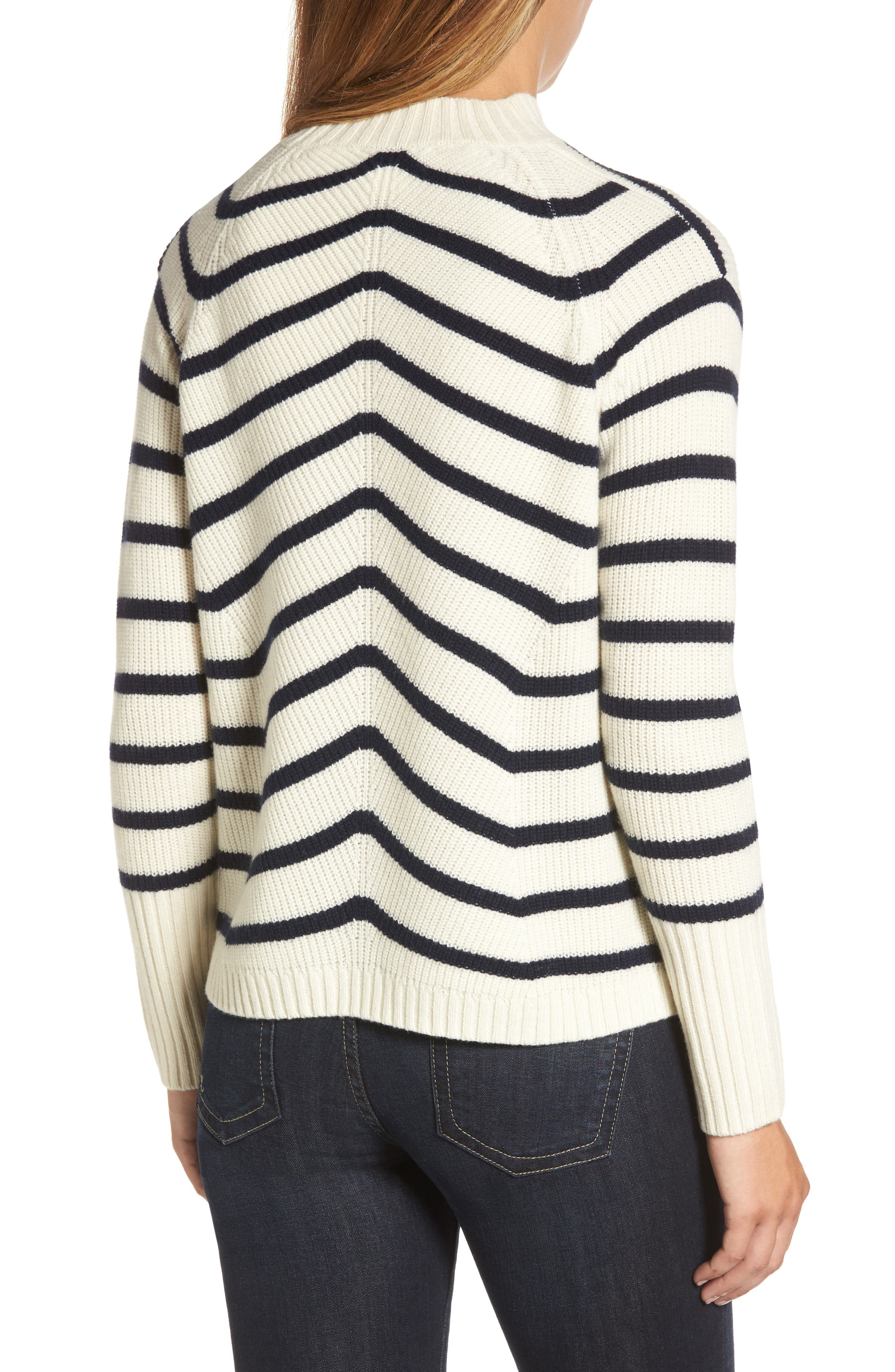 Stripe Fisherman Sweater,                             Alternate thumbnail 2, color,                             111