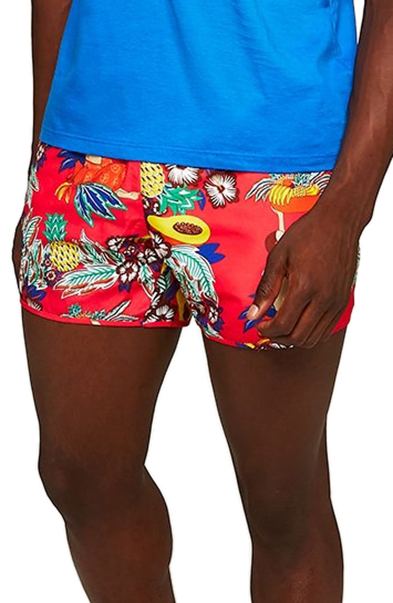 Fruit Salad Swim Trunks,                             Alternate thumbnail 3, color,                             650