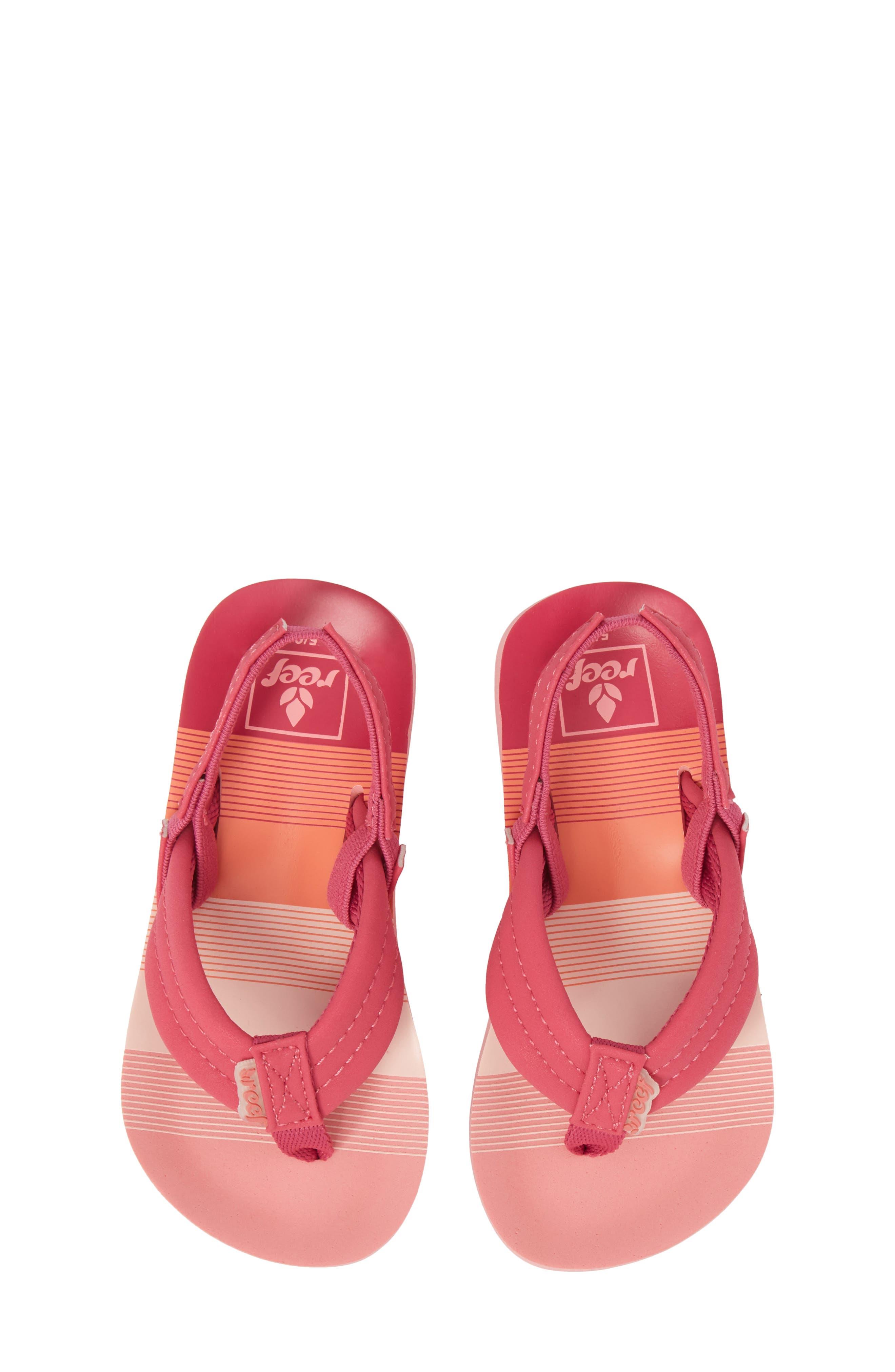 'Little Ahi' Thong Sandal,                             Main thumbnail 4, color,
