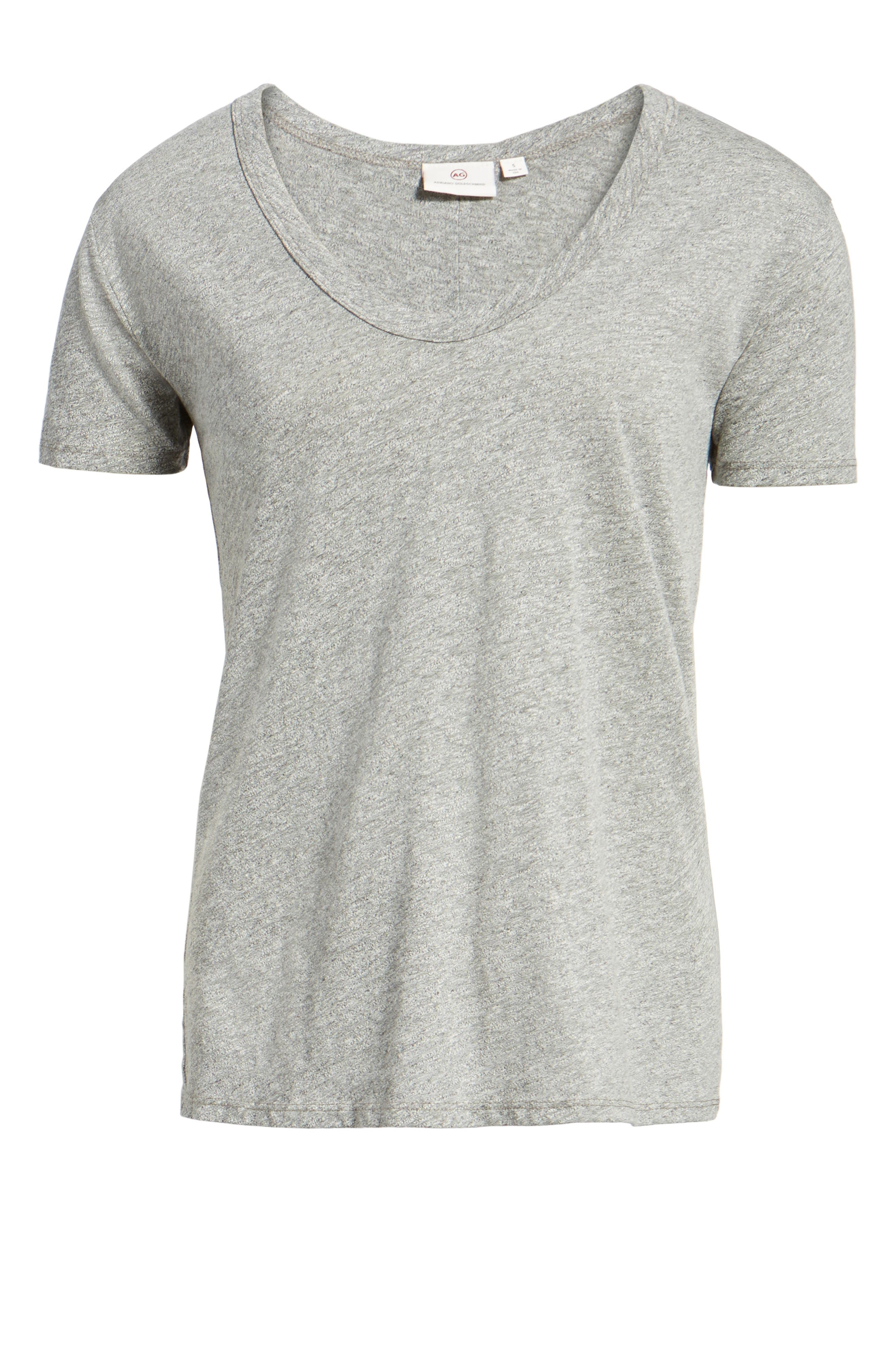 Henson Tee,                             Alternate thumbnail 6, color,                             SPECKLED HEATHER GREY