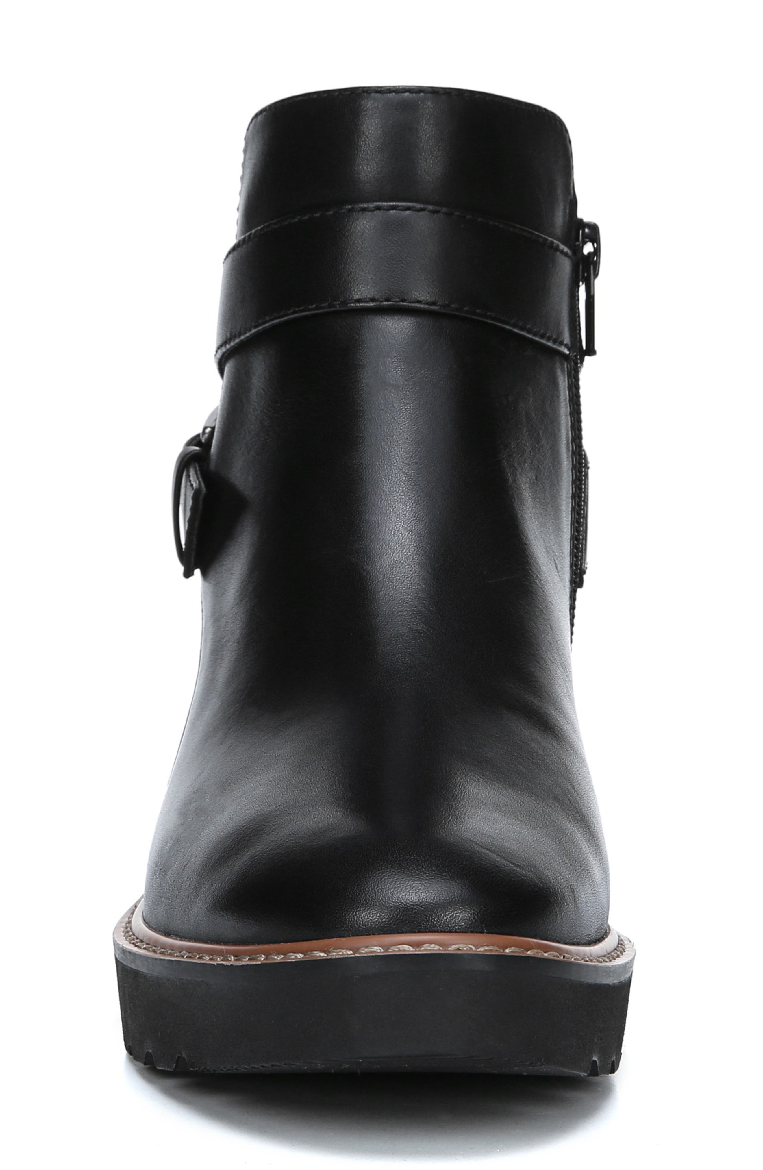 NATURALIZER,                             Aster Bootie,                             Alternate thumbnail 3, color,                             BLACK LEATHER