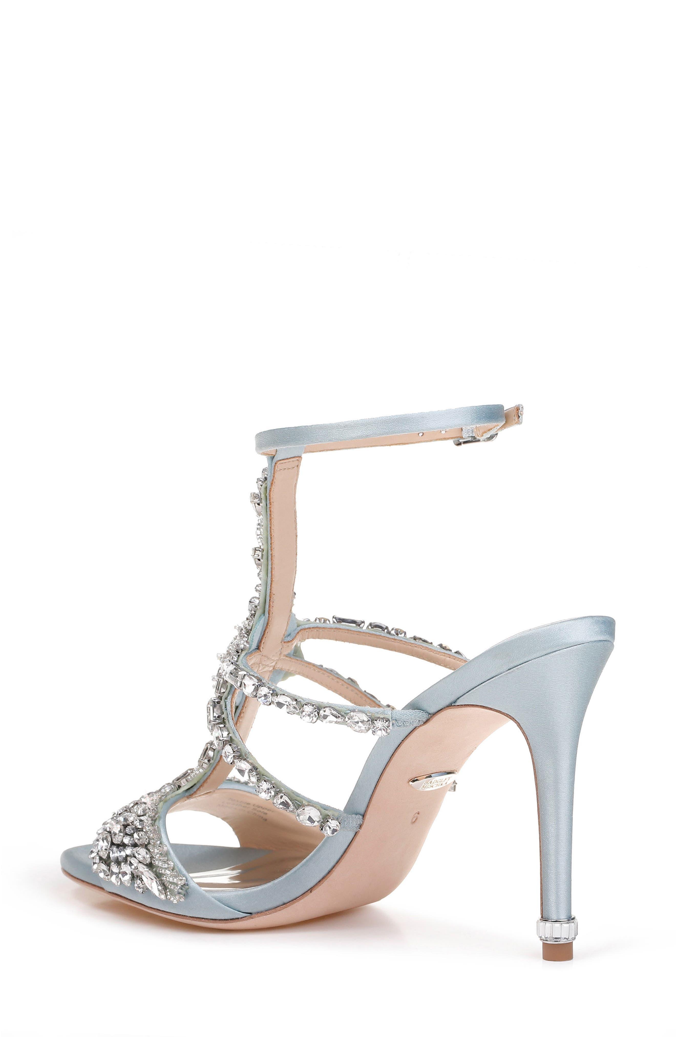 Hughes Crystal Embellished Sandal,                             Alternate thumbnail 6, color,