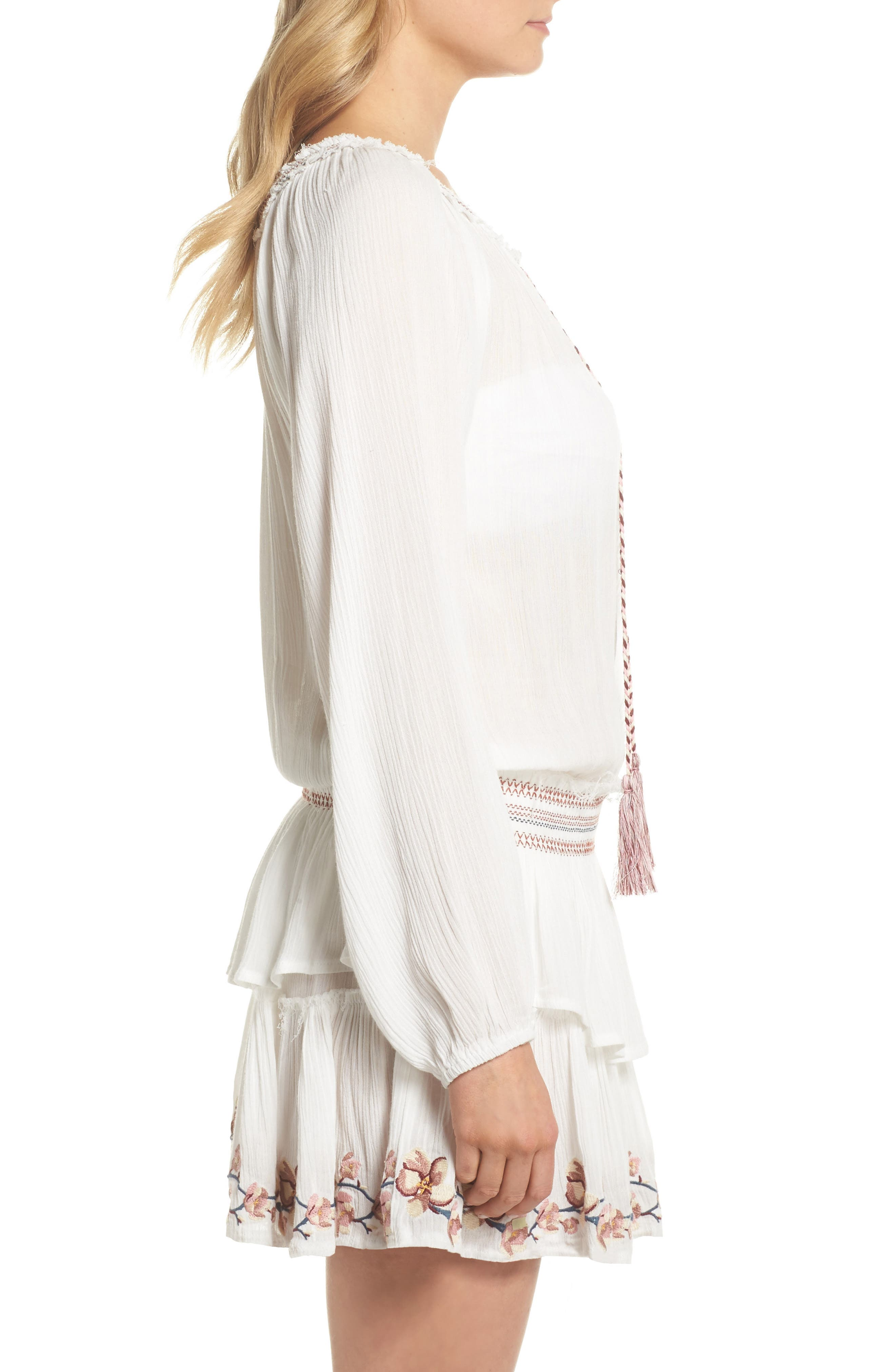 Cover-Up Dress,                             Alternate thumbnail 6, color,