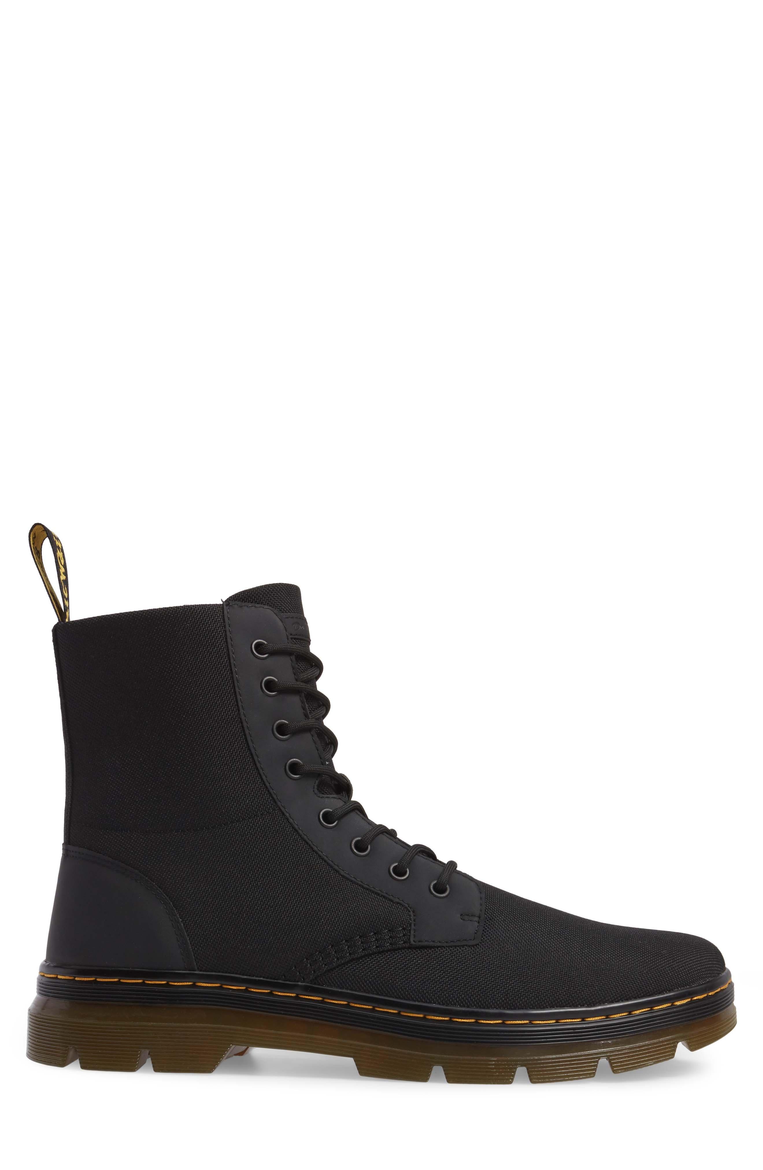 'Combs' Plain Toe Boot,                             Alternate thumbnail 3, color,                             001