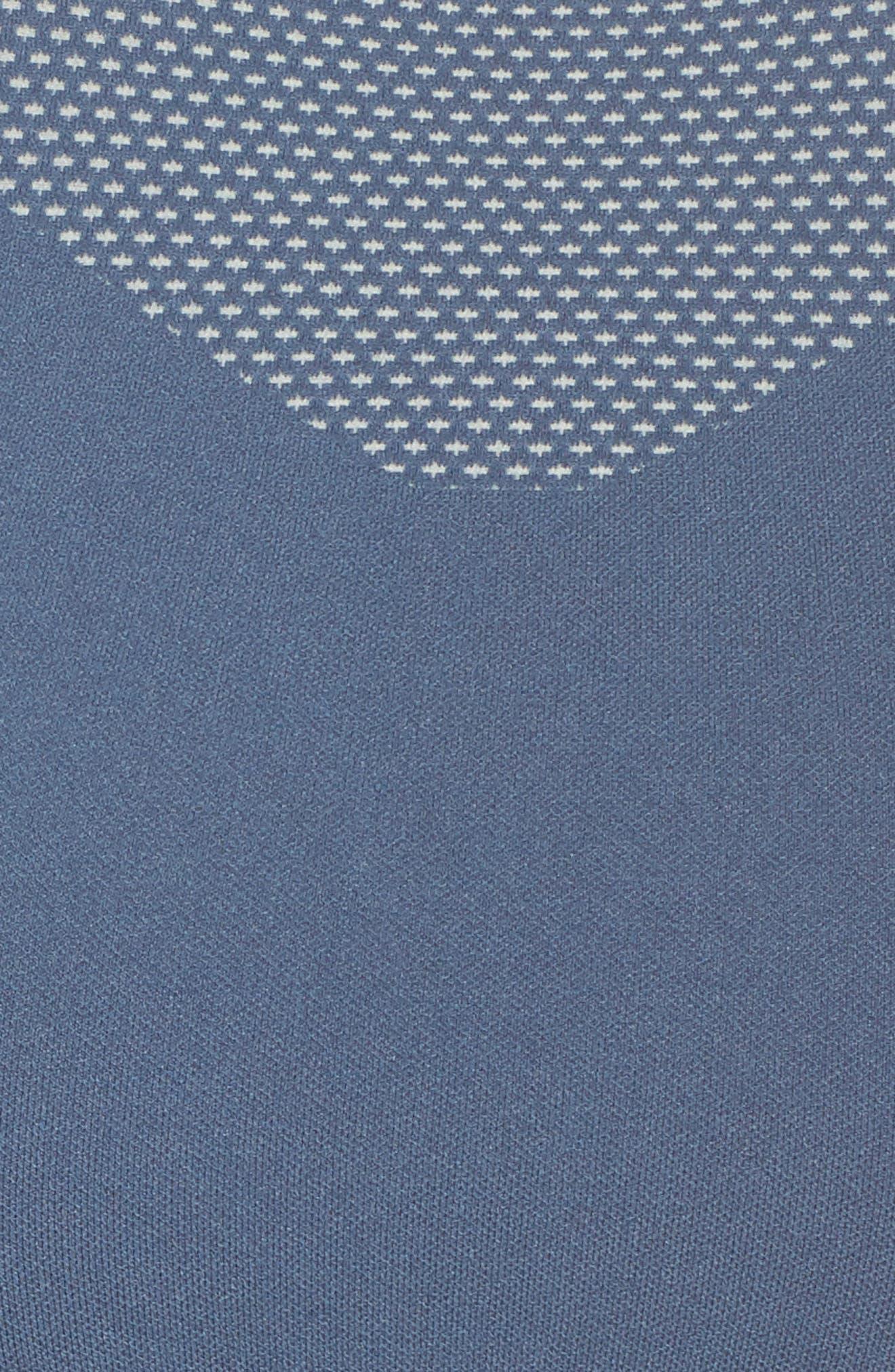 ZELLA BODY,                             Fusion Sports Bra,                             Alternate thumbnail 7, color,                             BLUE VINTAGE