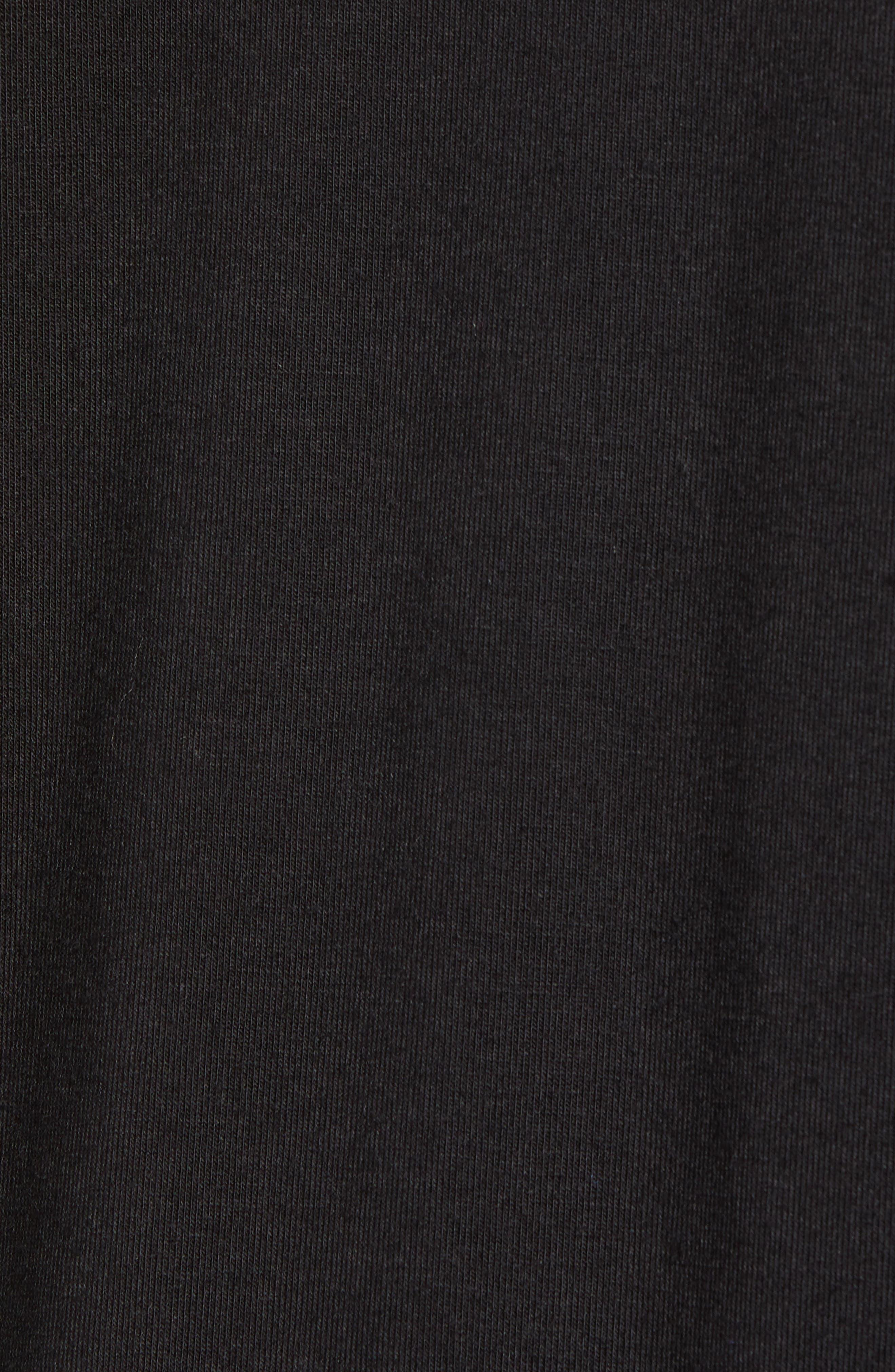 Surplice Knit Top,                             Alternate thumbnail 5, color,                             001