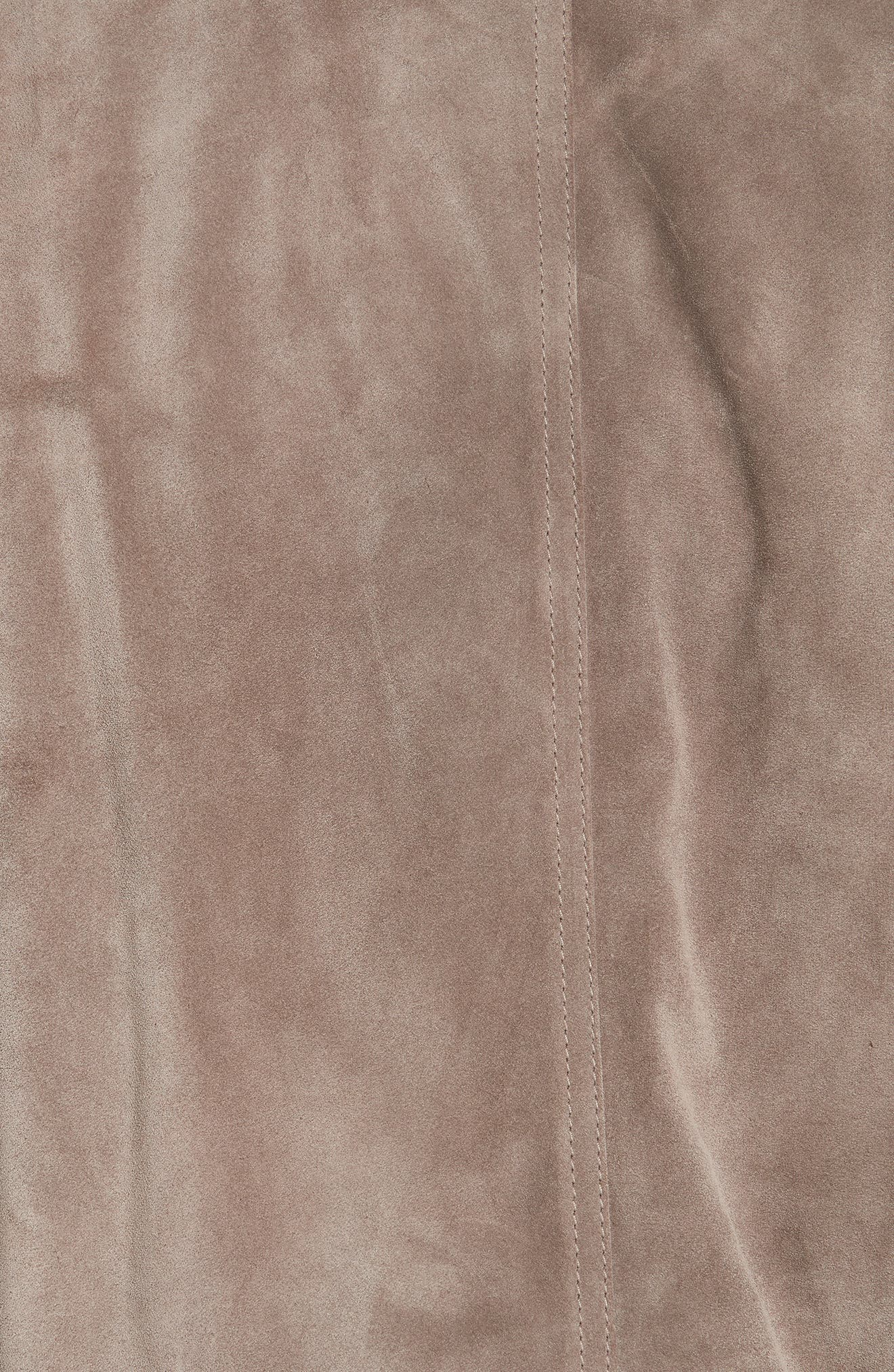 Winswell Suede Jacket,                             Alternate thumbnail 6, color,                             DRIFTWOOD