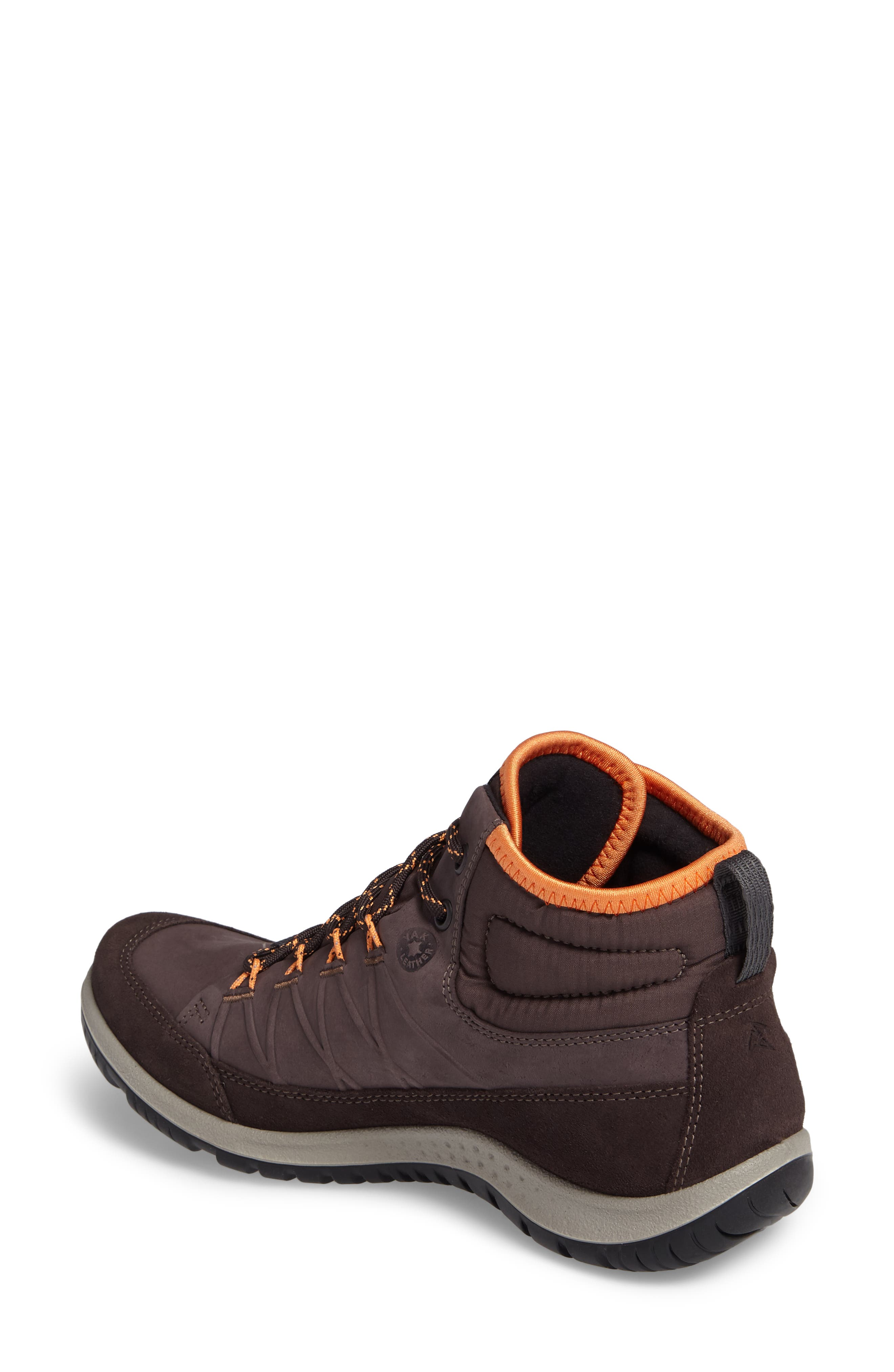 'Aspina GTX' Waterproof High Top Shoe,                             Alternate thumbnail 2, color,                             SHALE LEATHER