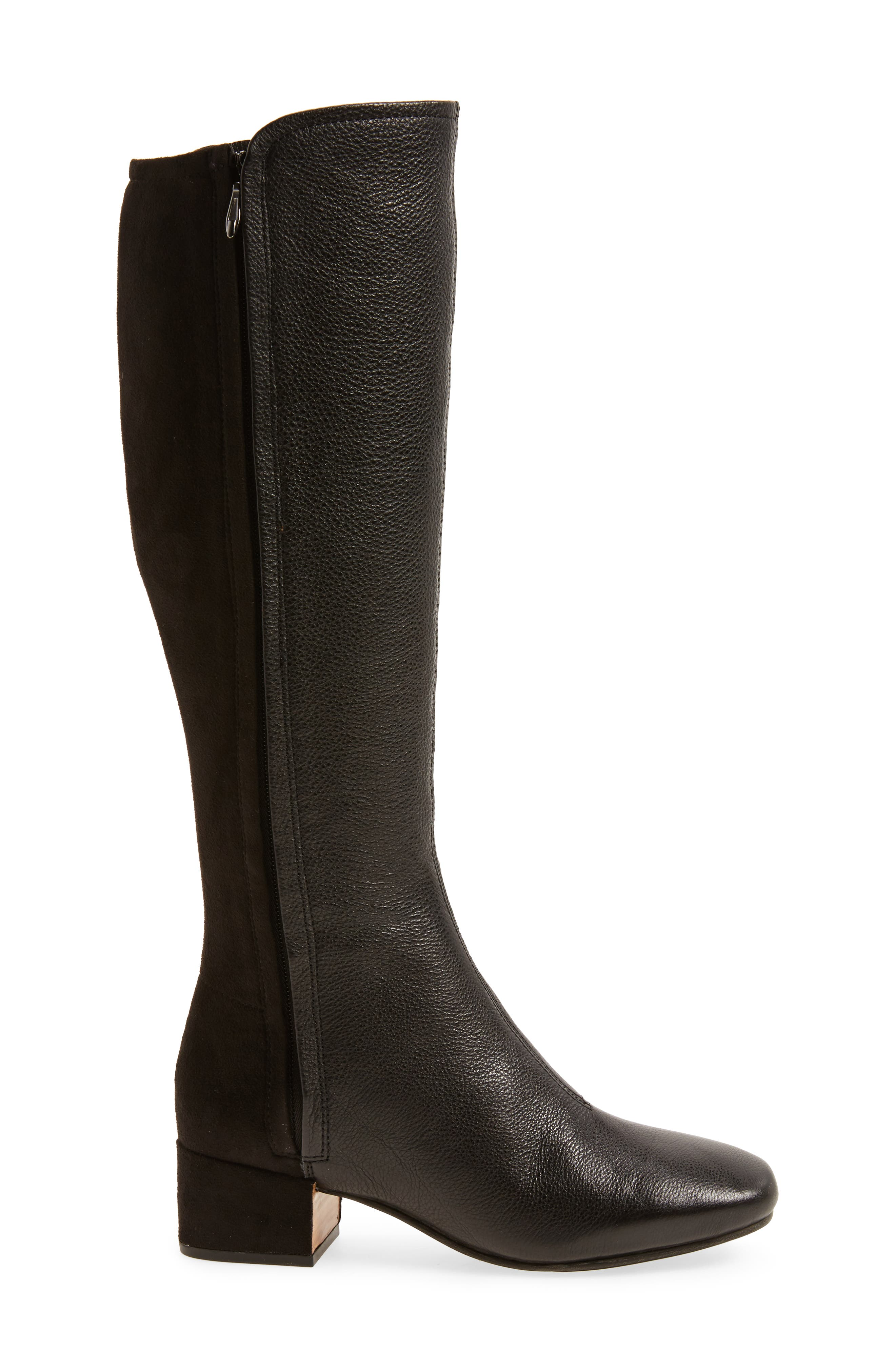 GENTLE SOULS BY KENNETH COLE,                             Ella-Seti Knee High Boot,                             Alternate thumbnail 3, color,                             001