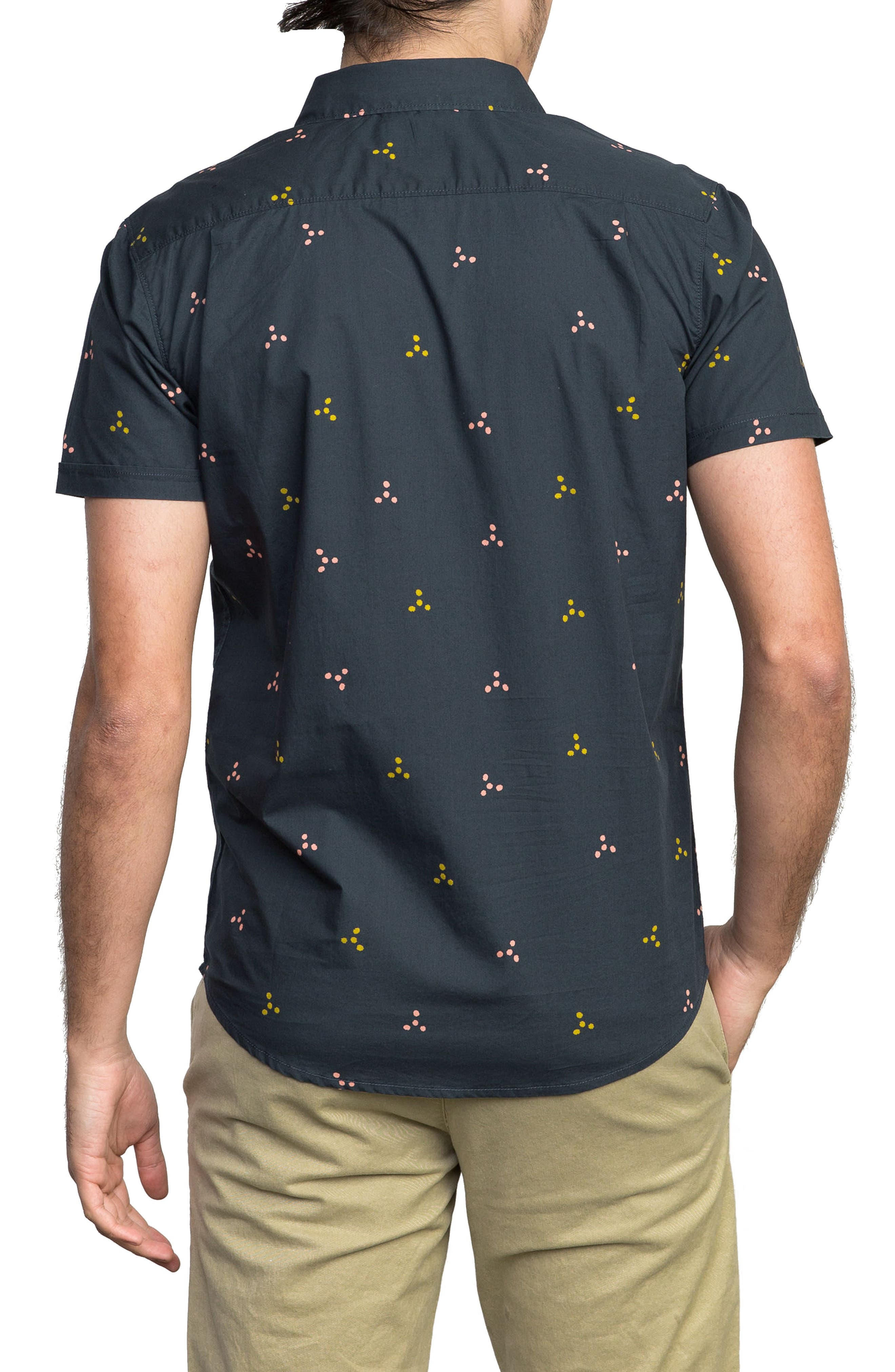 Tridot Woven Shirt,                             Alternate thumbnail 2, color,                             020