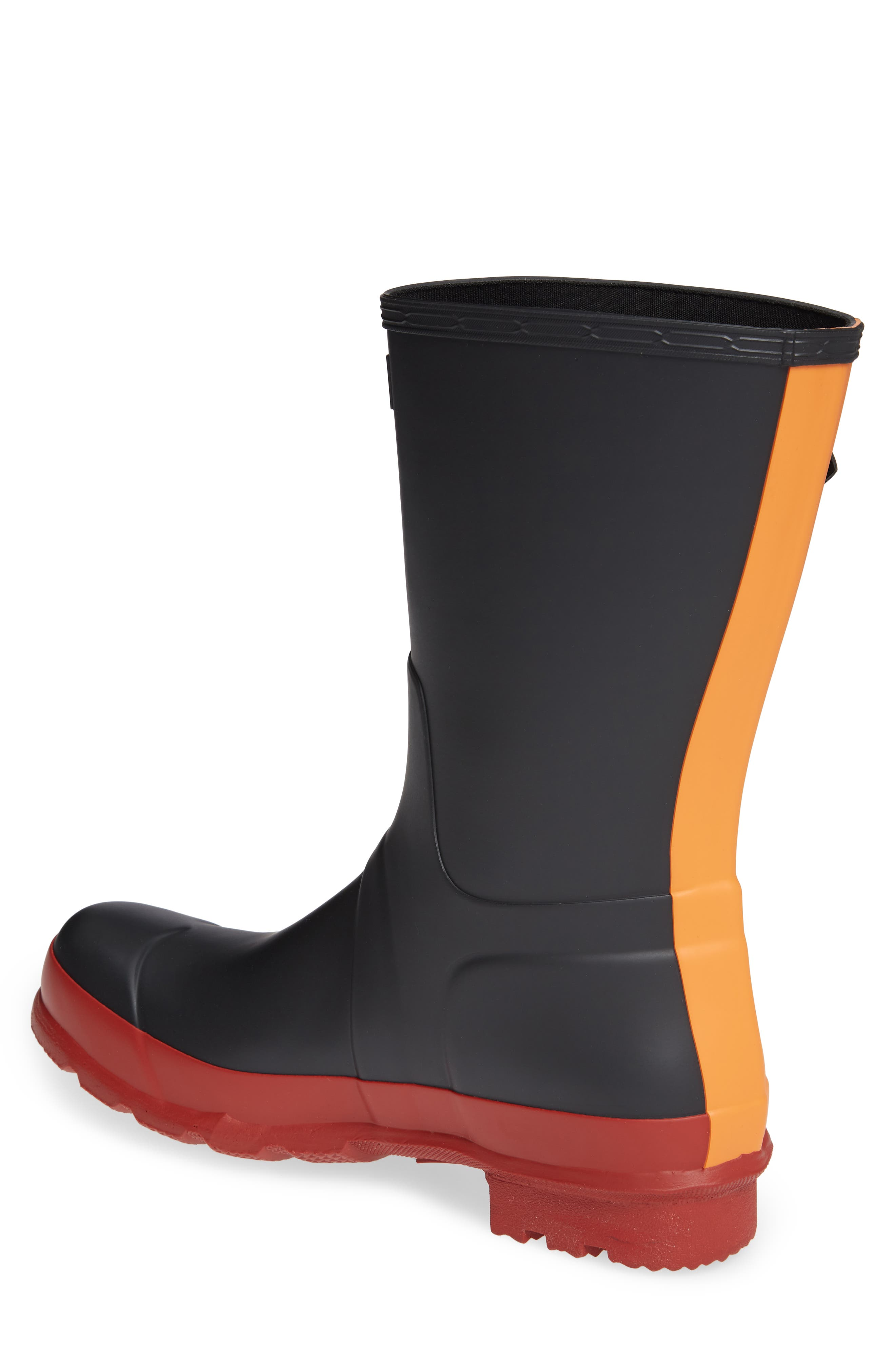 Waterproof Original Boot,                             Alternate thumbnail 2, color,                             BLACK/ RED COLOR BLOCK