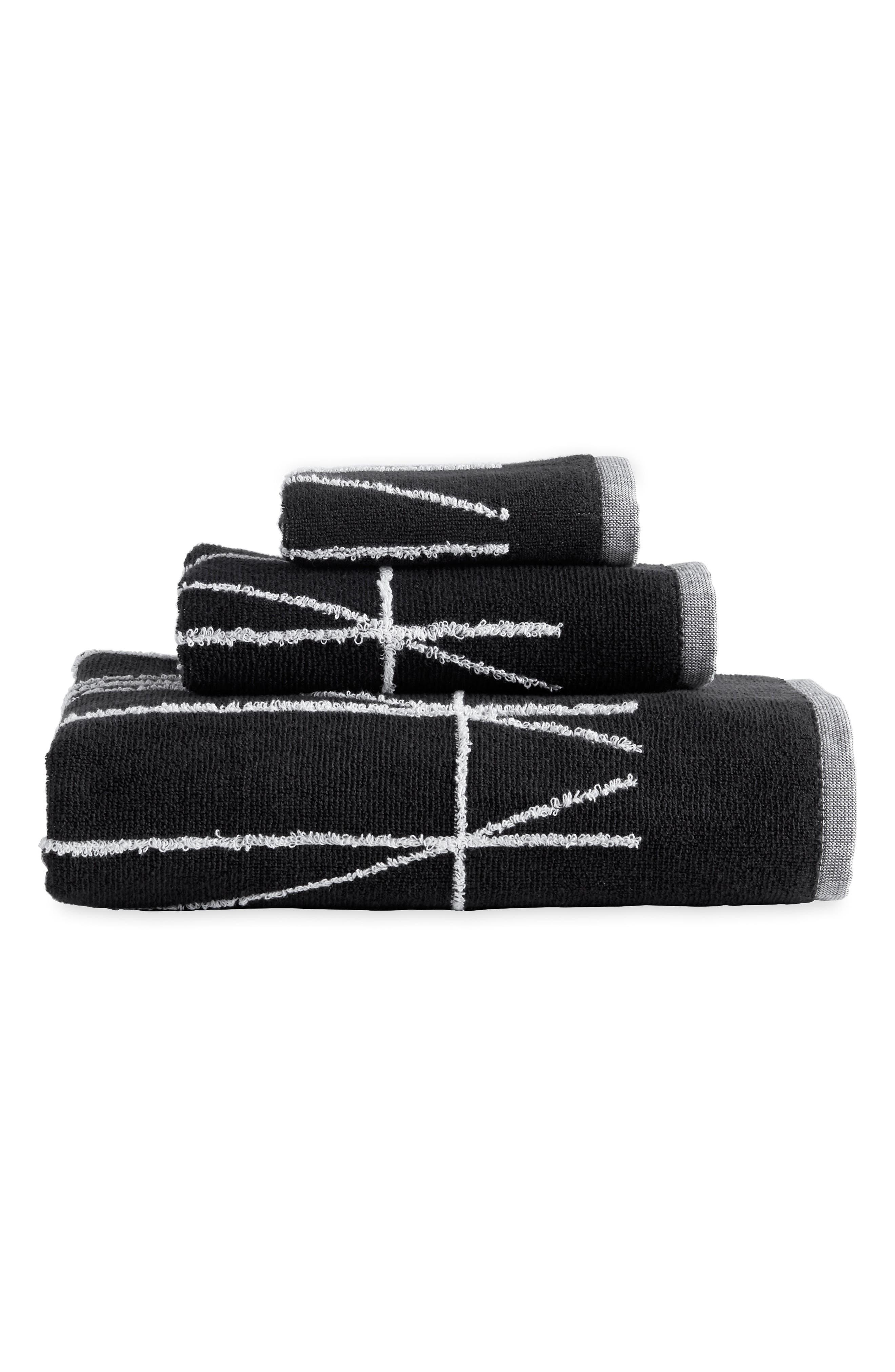Geometrix Bath Towel,                             Main thumbnail 1, color,                             001