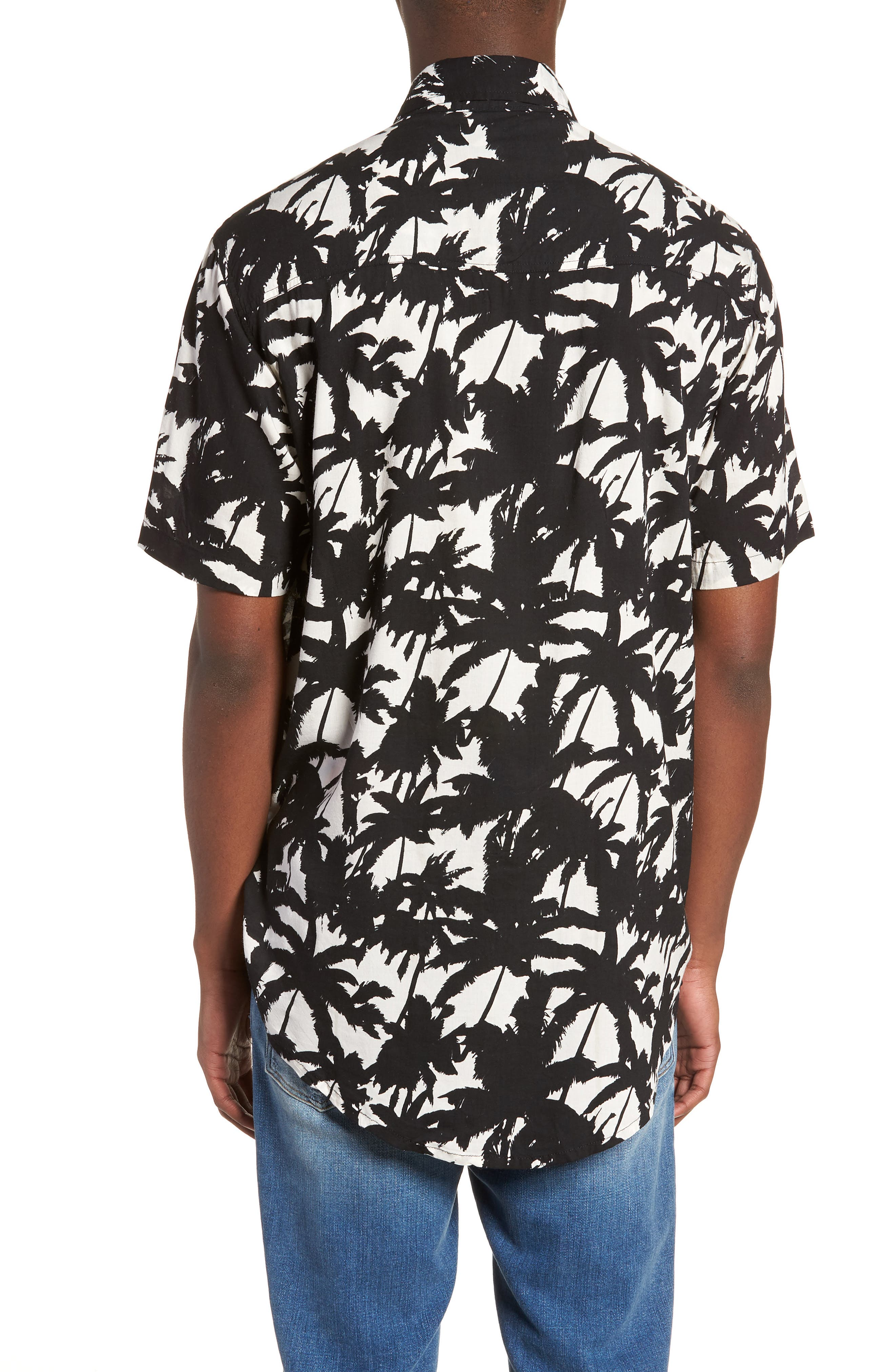 Stevie Woven Shirt,                             Alternate thumbnail 2, color,                             001