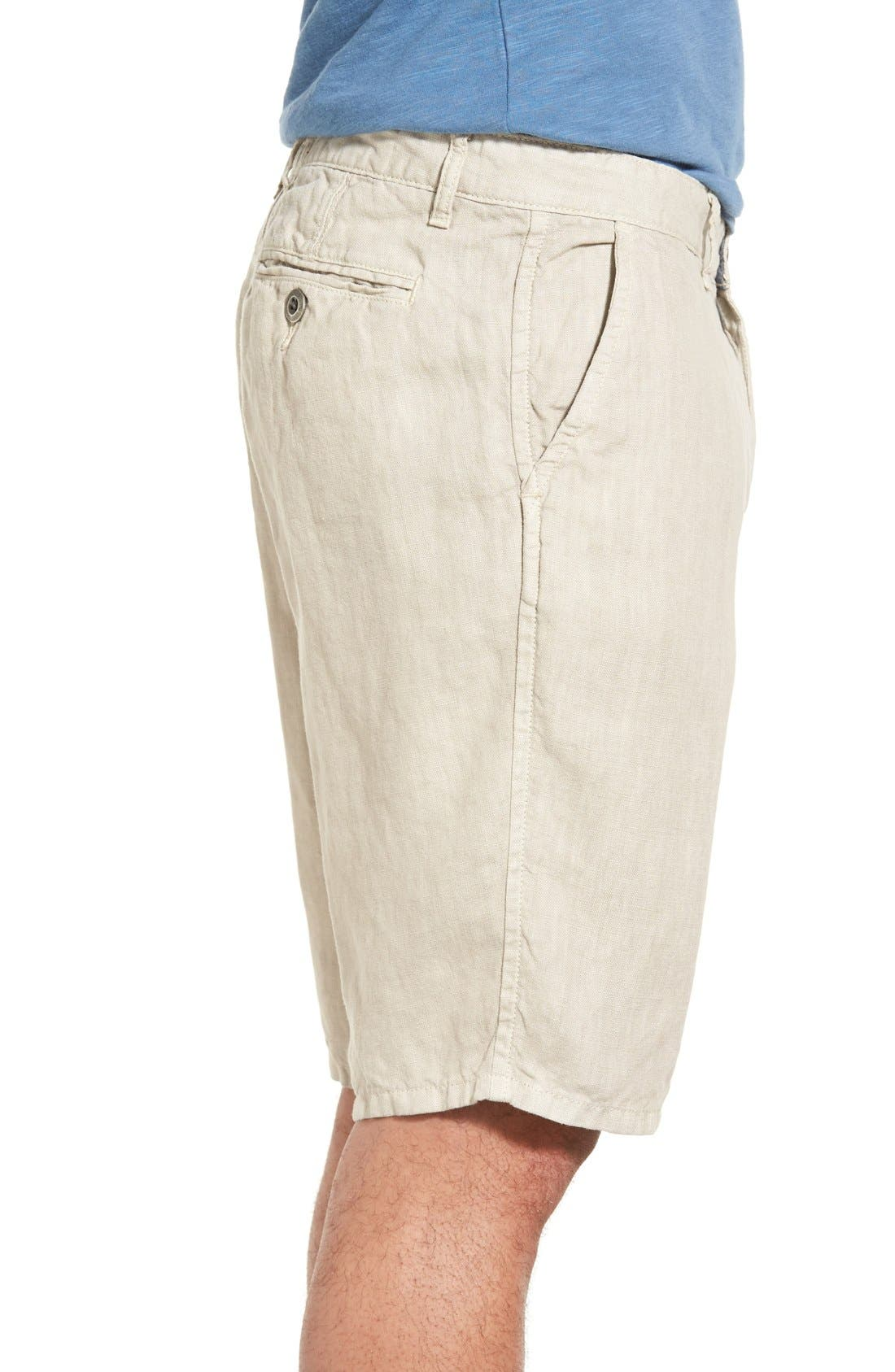 'Havana' Linen Shorts,                             Alternate thumbnail 39, color,