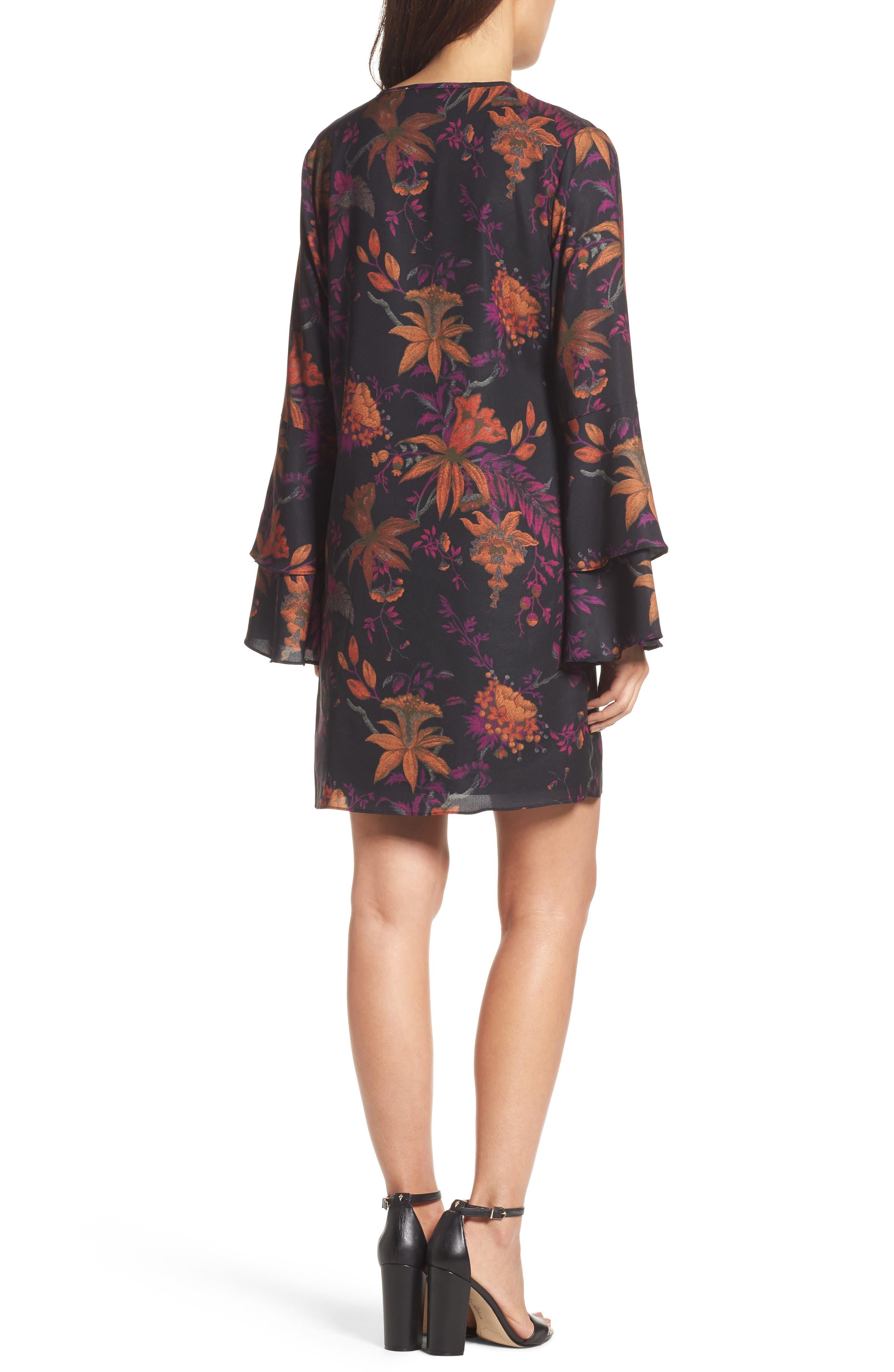 Primrose Bell Sleeve Dress,                             Alternate thumbnail 2, color,                             665
