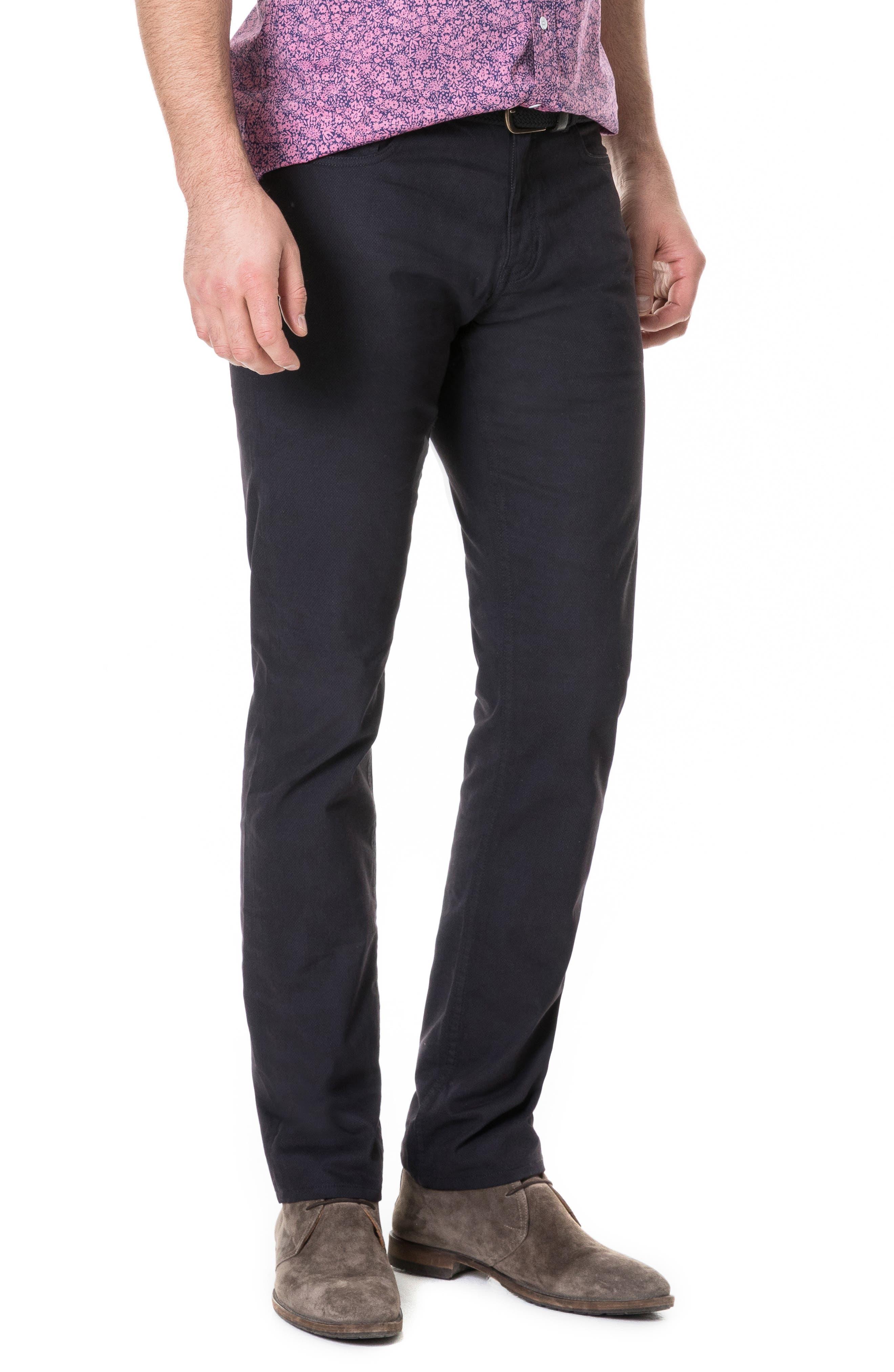 Whareflat Straight Leg Jeans,                             Alternate thumbnail 3, color,                             ASPHALT