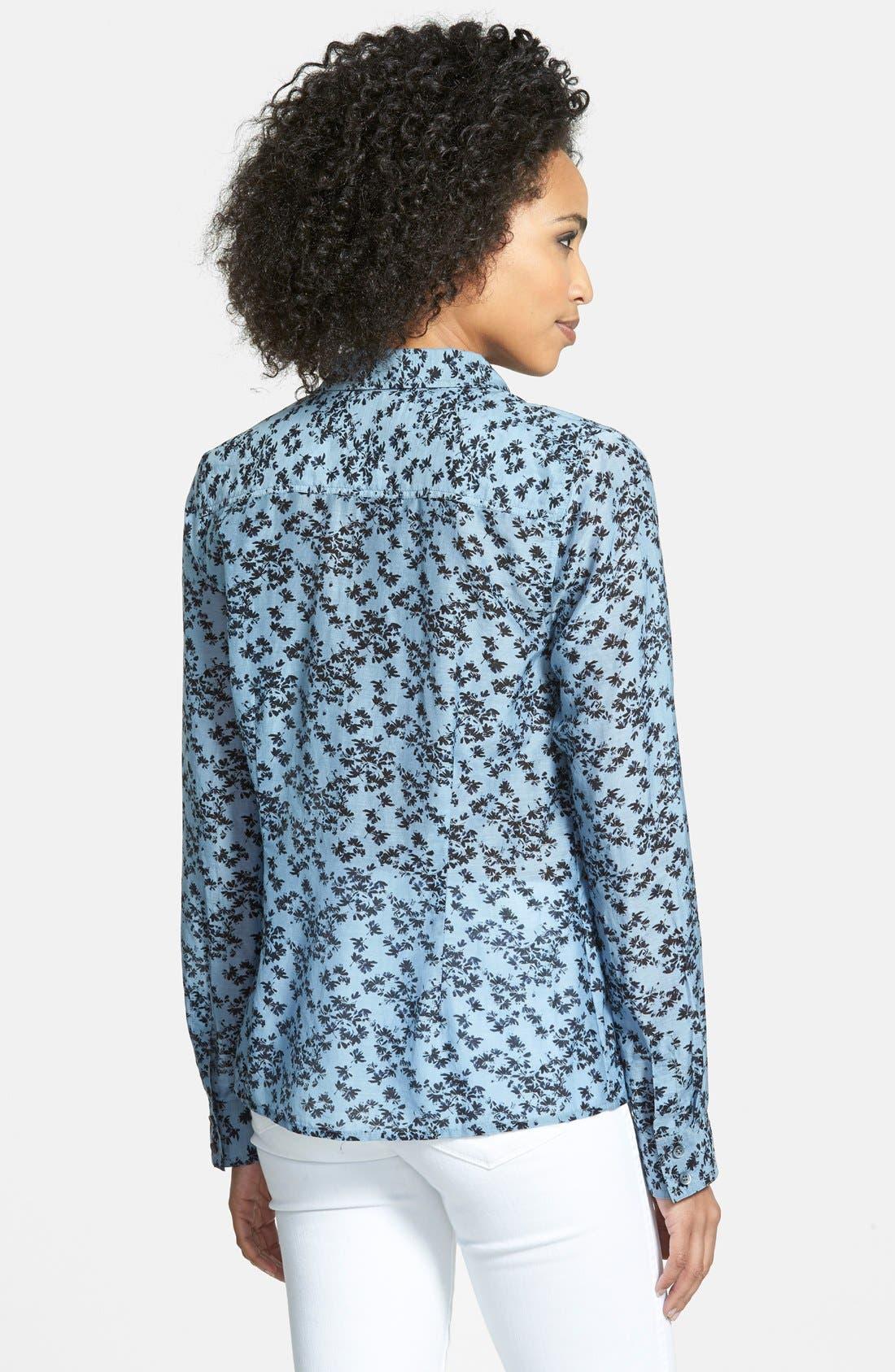 Cotton & Silk Shirt,                             Alternate thumbnail 75, color,