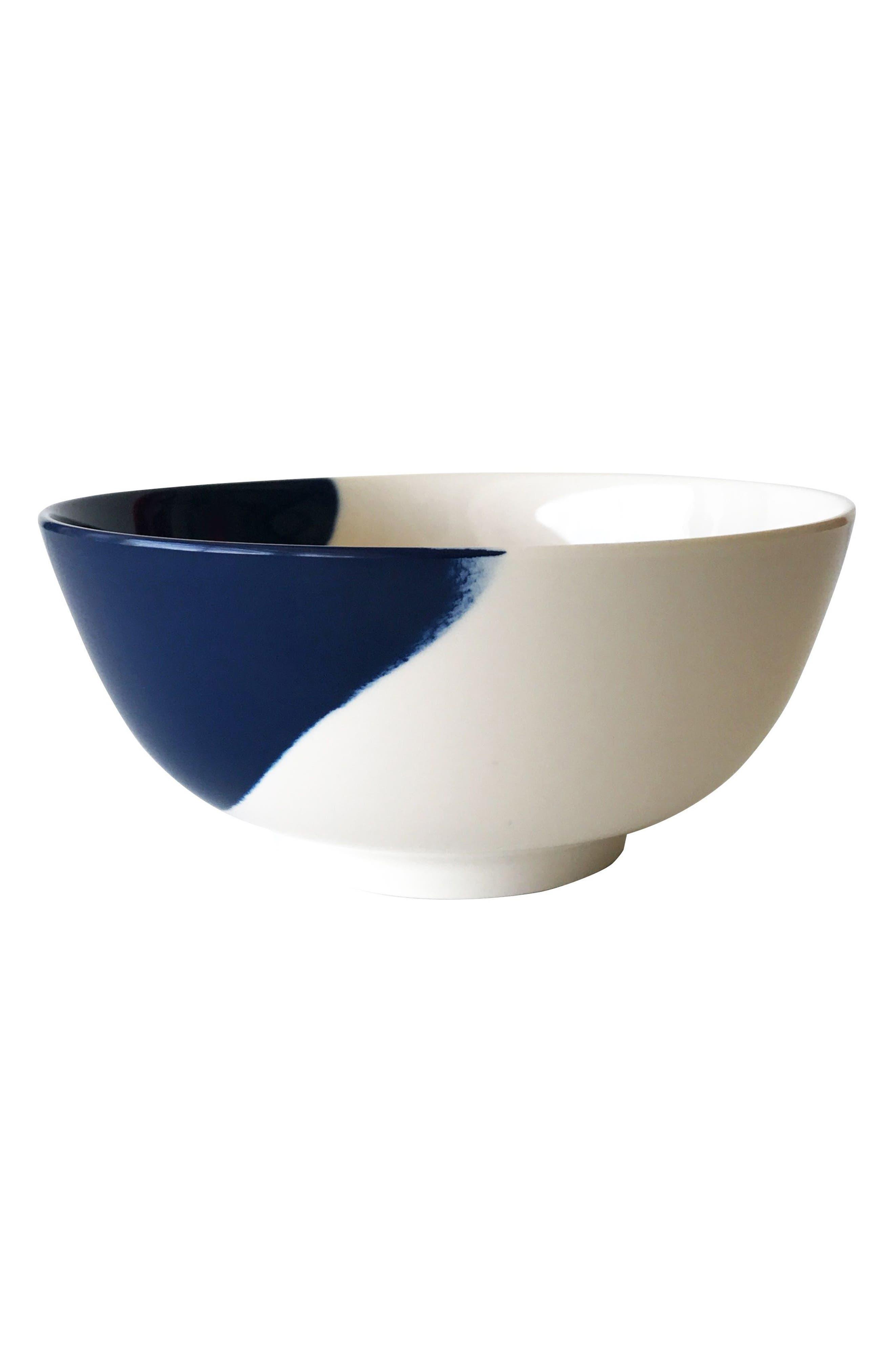 THOMAS FUCHS CREATIVE,                             Set of 4 Melamine Bowls,                             Main thumbnail 1, color,                             100