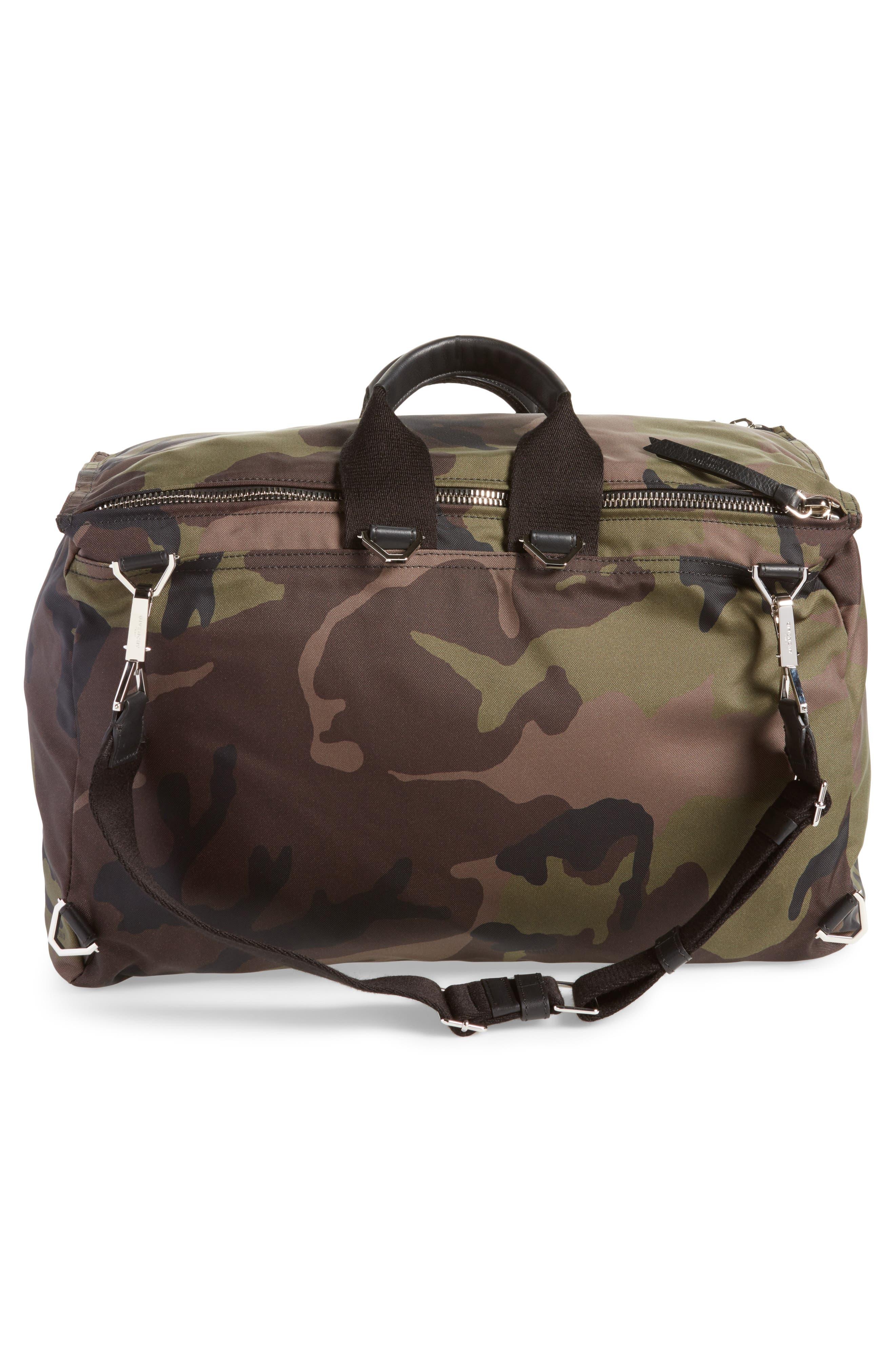 Pandora Camo Convertible Backpack,                             Alternate thumbnail 4, color,