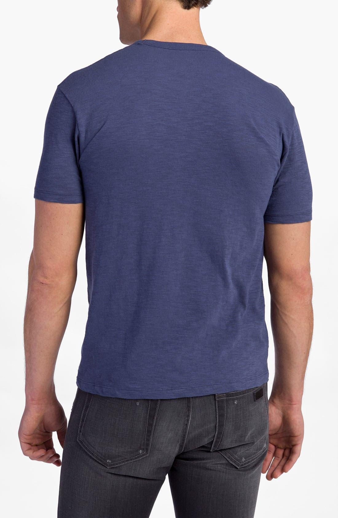 'Chicago Cubs' Regular Fit Crewneck T-Shirt,                             Alternate thumbnail 55, color,